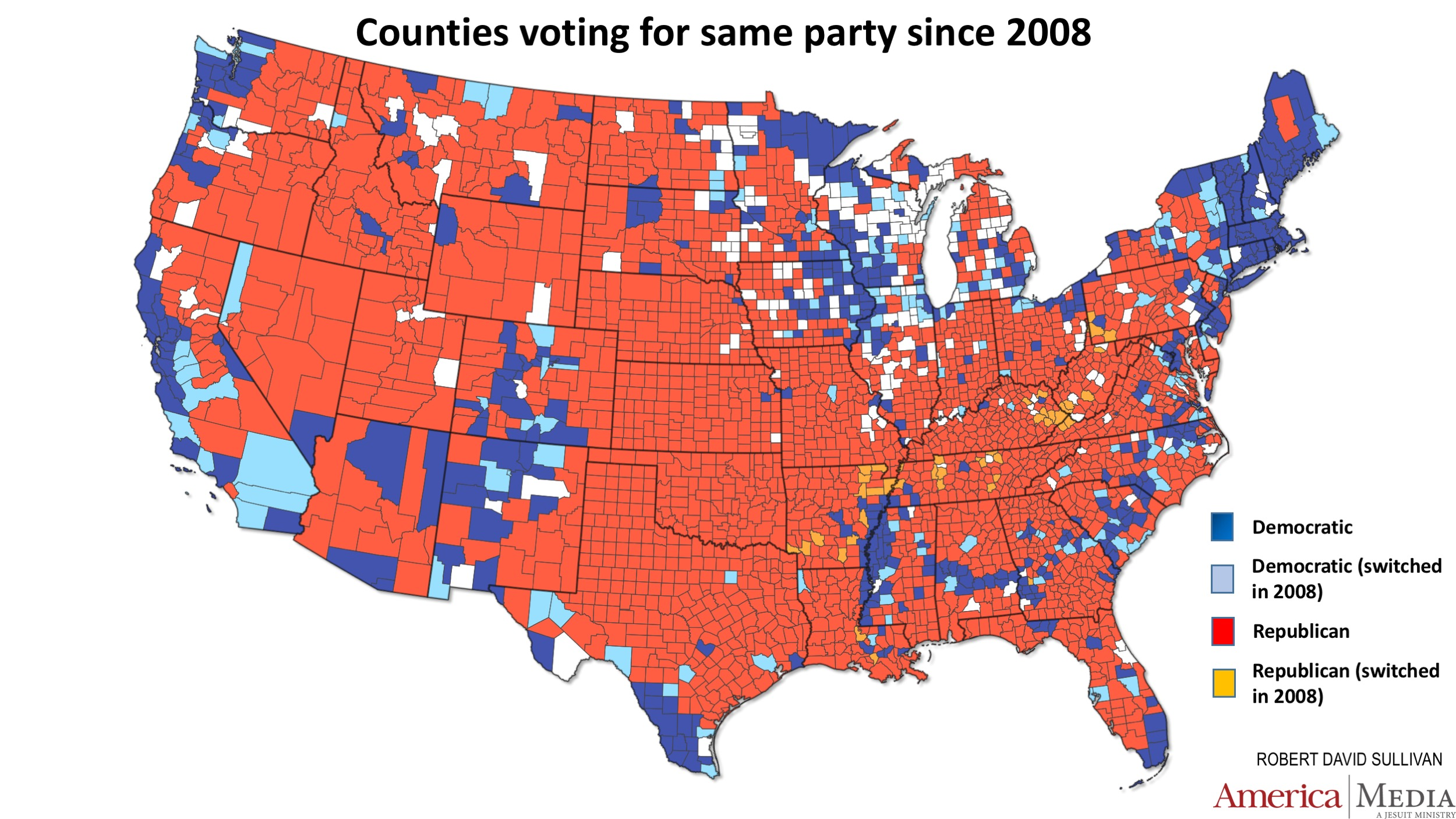 How the red and blue map evolved over the past century ... Map Of Democratic States on map of usa with electoral votes, red and blue states 2012, democratic blue states 2012, map of usa in thyroid cancer, republican states 2012, map of democrats and republicans in congress 2013, map of germany states 2012, presidential election battleground states 2012,