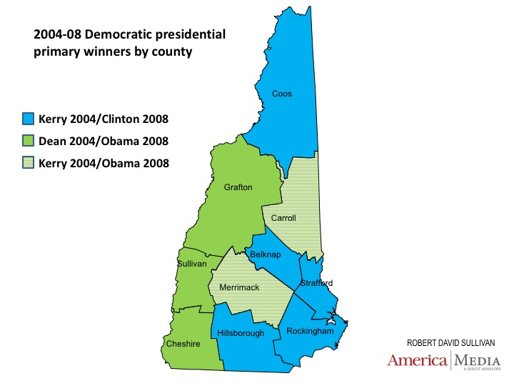 Democratic Primaries In New Hampshire Have Long Been Dominated By The State S Two Most Populous Counties Hillsborough And Rockingham Which Happen To Be