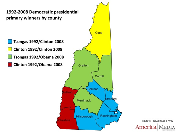New Hampshire votes early, but...