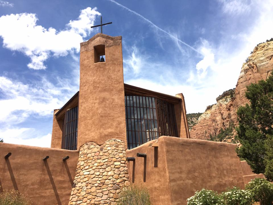 Christ in the Desert is a Benedictine monastery nestled in New Mexico's remote Chama Canyon.