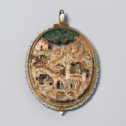 Two-Sided Pendant with Scenes from the Lives of Christ and Saint Francis, 14th/15th century