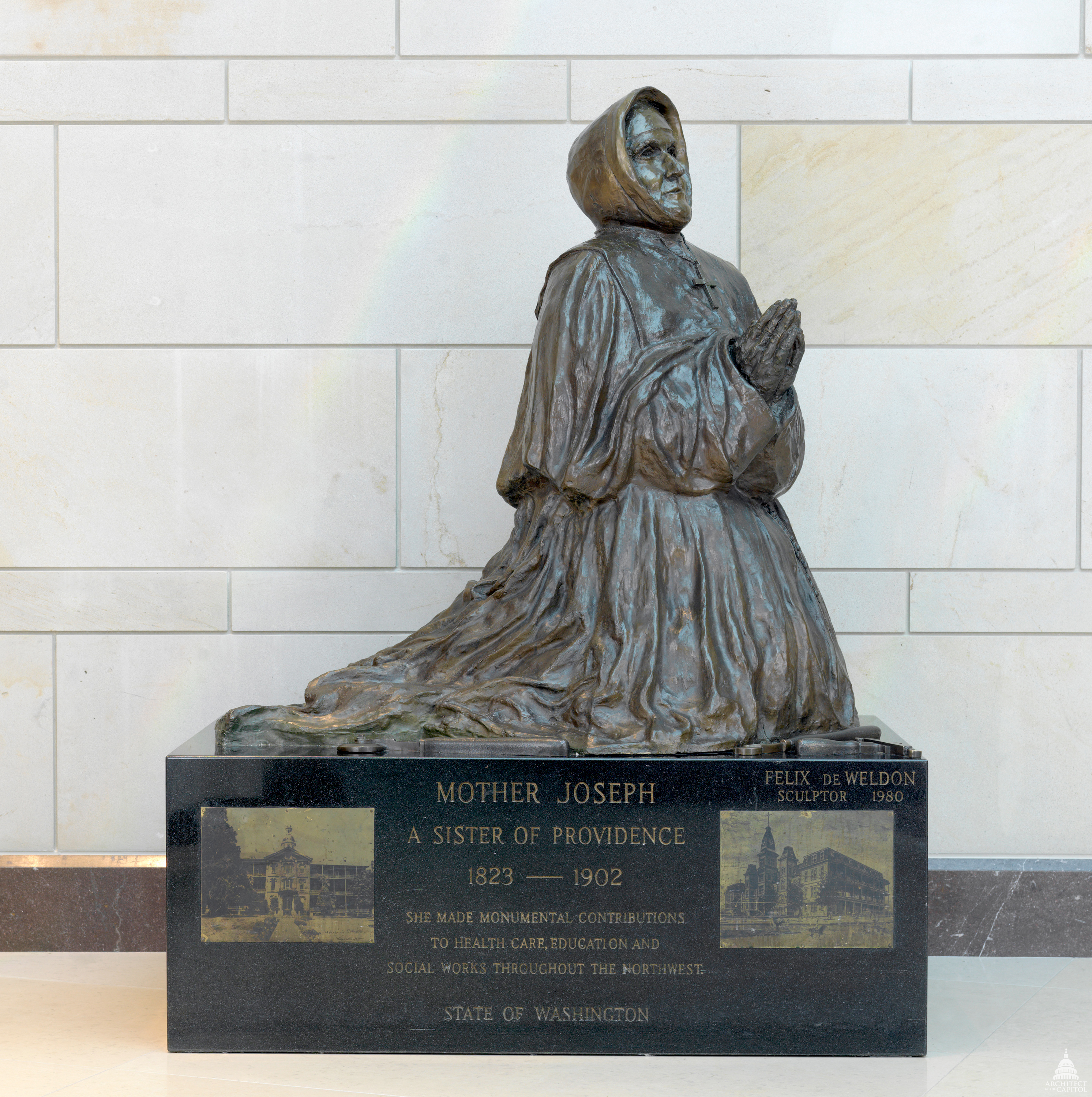 Mother Joseph statue in Washington