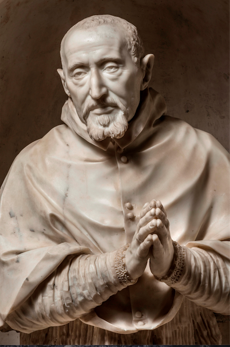 A bust of St. Robert Bellarmine by Gian Lorenzo Bernini