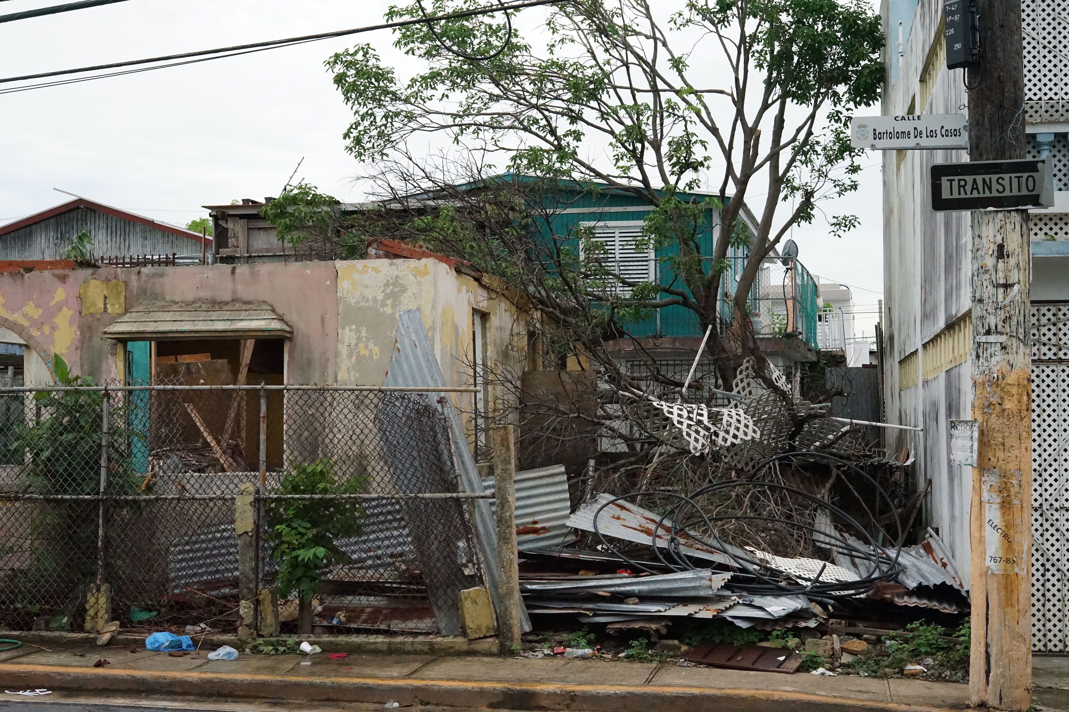 Hurricane Maria destroyed homes in la Playitas, a small neighborhood in Puerto Rico.