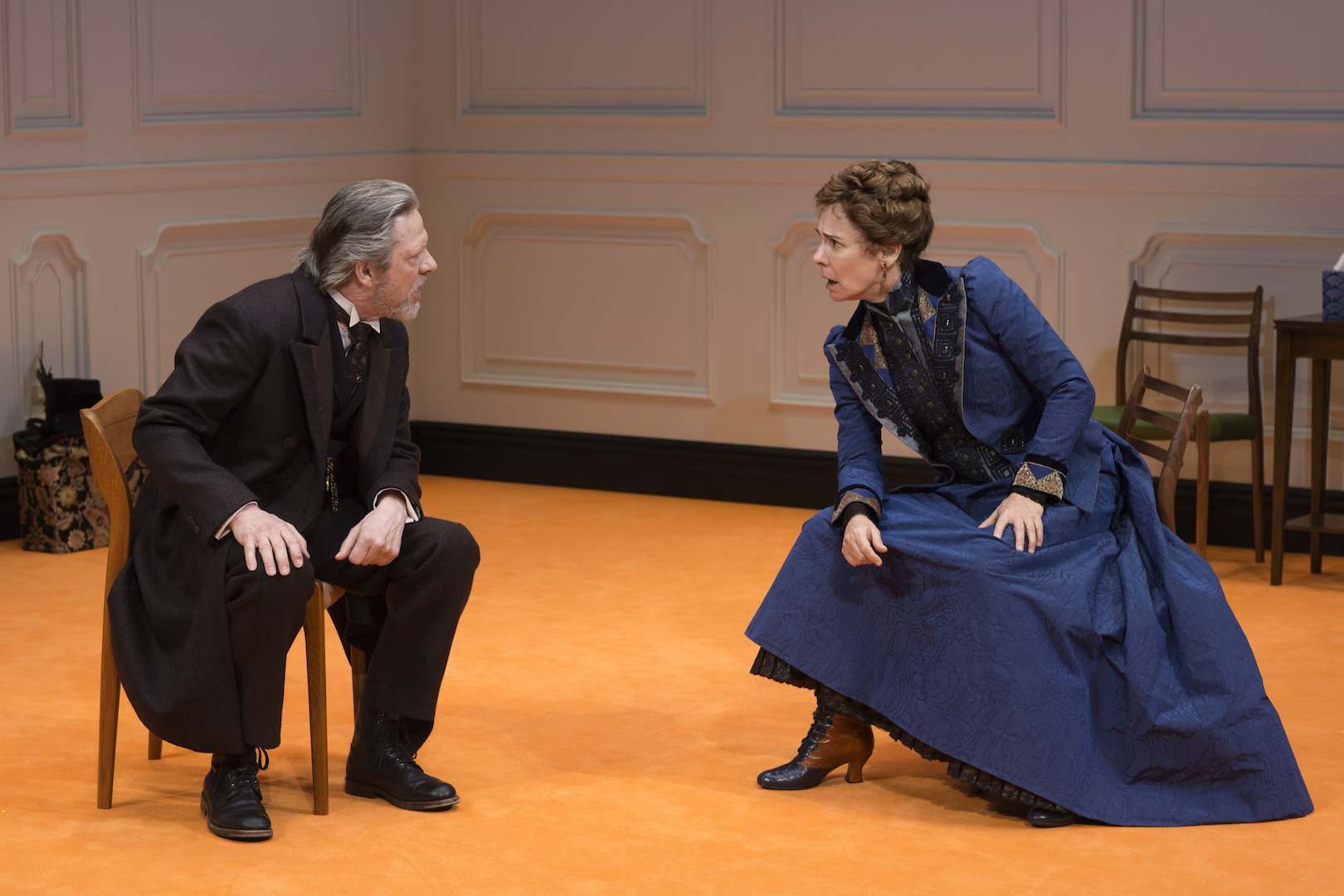 "Chris Cooper and Laurie Metcalf in ""A Doll's House, Part 2"" (photo: Brigitte Lacombe)"