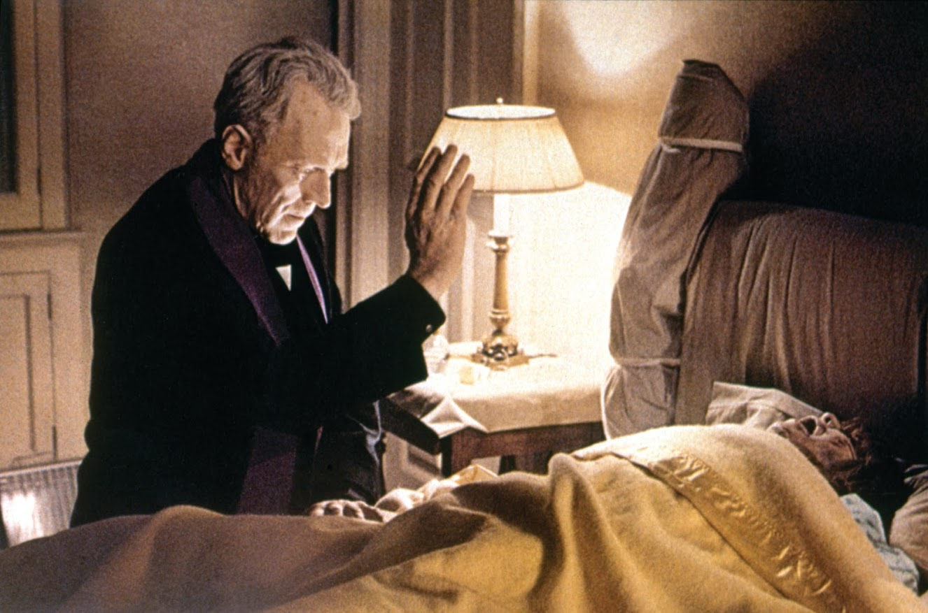 "Max Van Sydow in ""The Exorcist"" (Getty Images)"