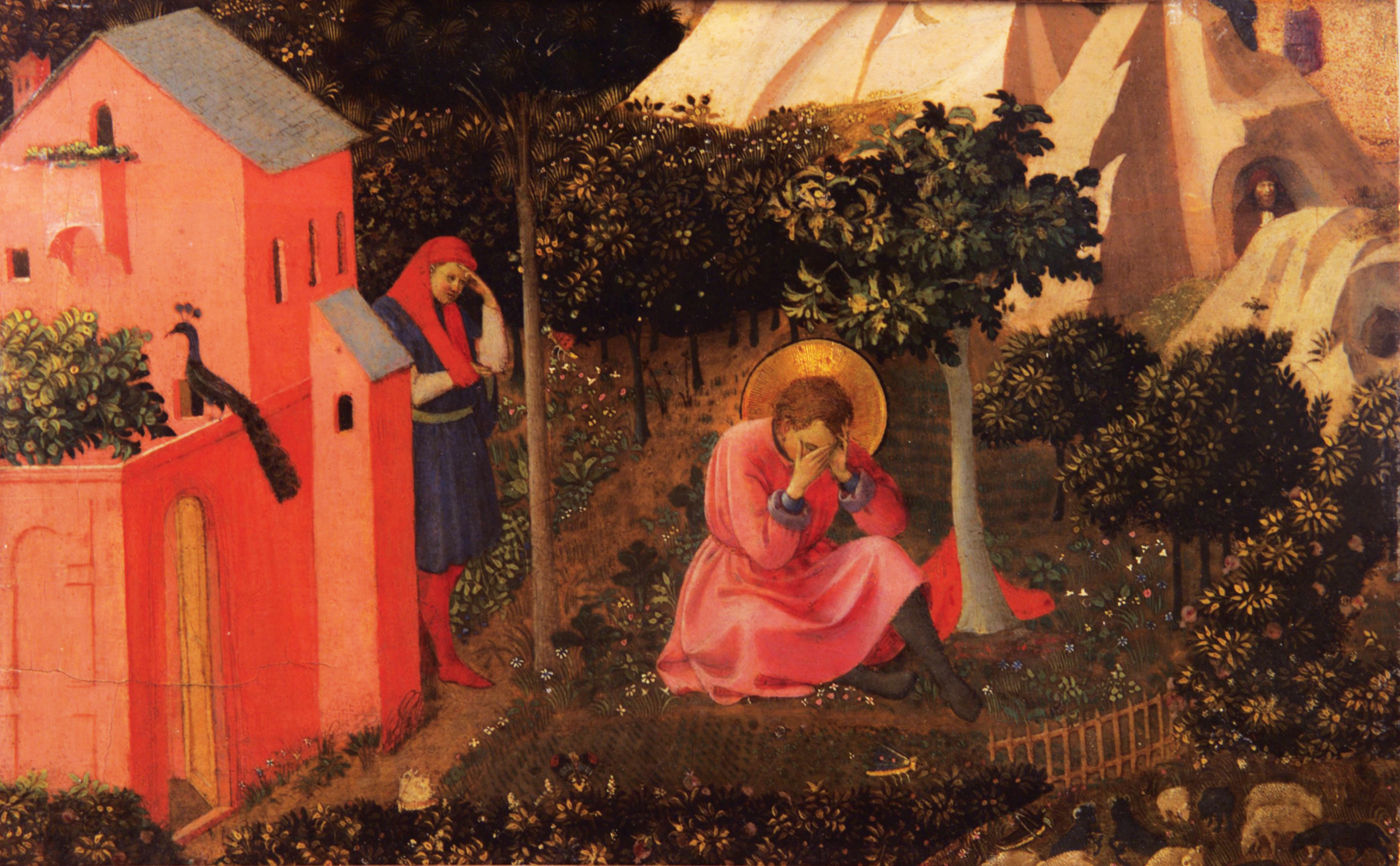 The Confession of St. Augustine by Fra Angelico