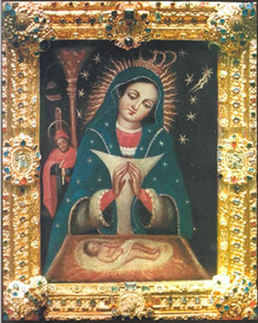 More than 800,000 visit the 16th century image of Our Lady of Altagracia each year. (Image from the Dominican Consulate in Amsterdam)