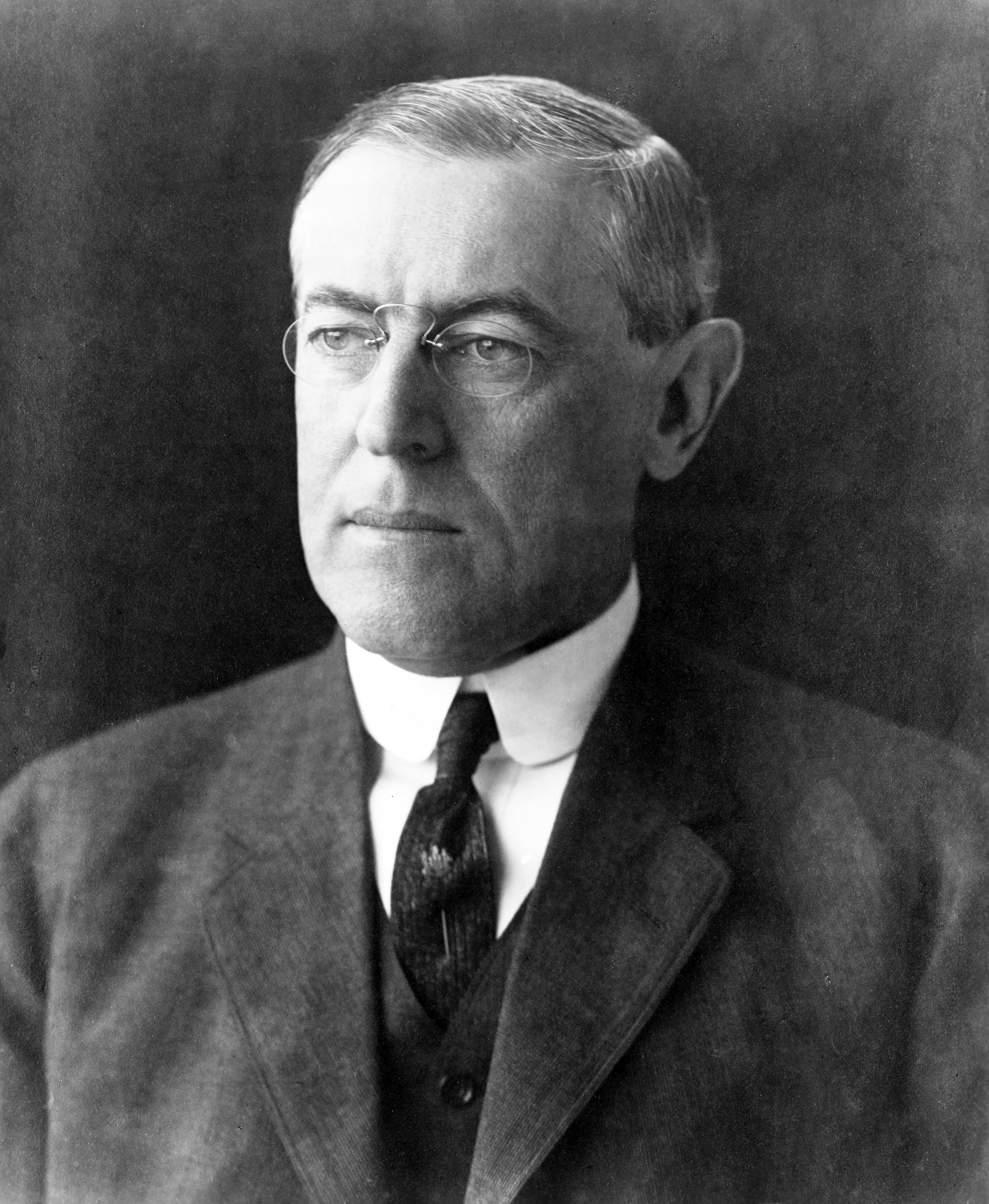 Woodrow Wilson. Source: U.S. Library of Congress