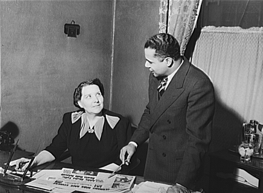 Publisher and editor of The Chicago Defender, 1941. Source: US Library of Congress.