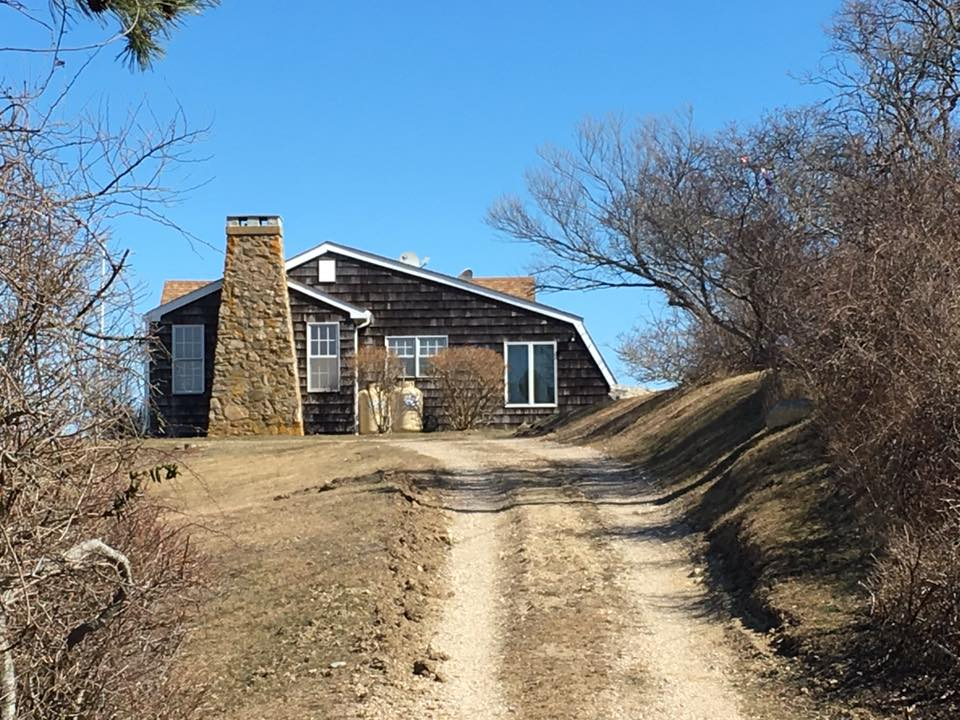 "William Stringfellow's home on Block Island, R.I., known as ""Eschaton"""