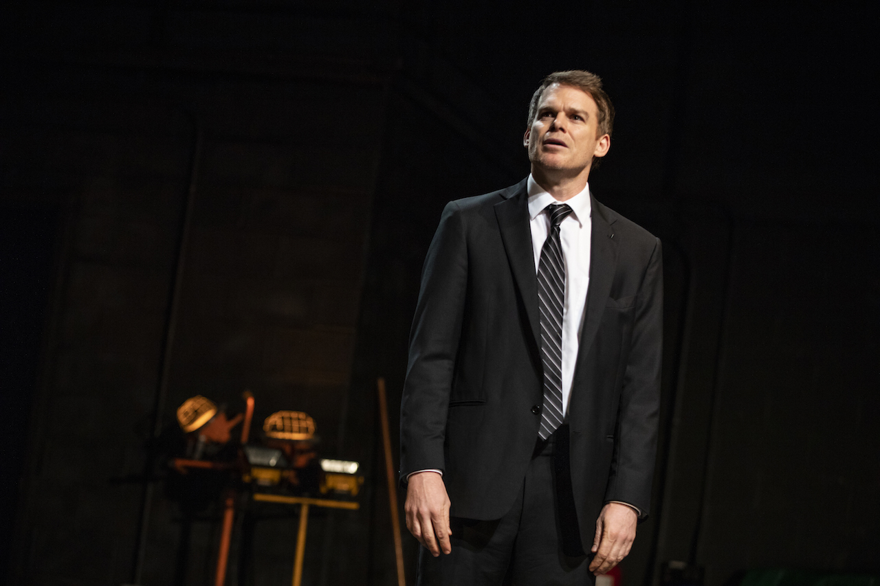 Michael C. Hall in 'Thom Pain' (photo: Joan Marcus)