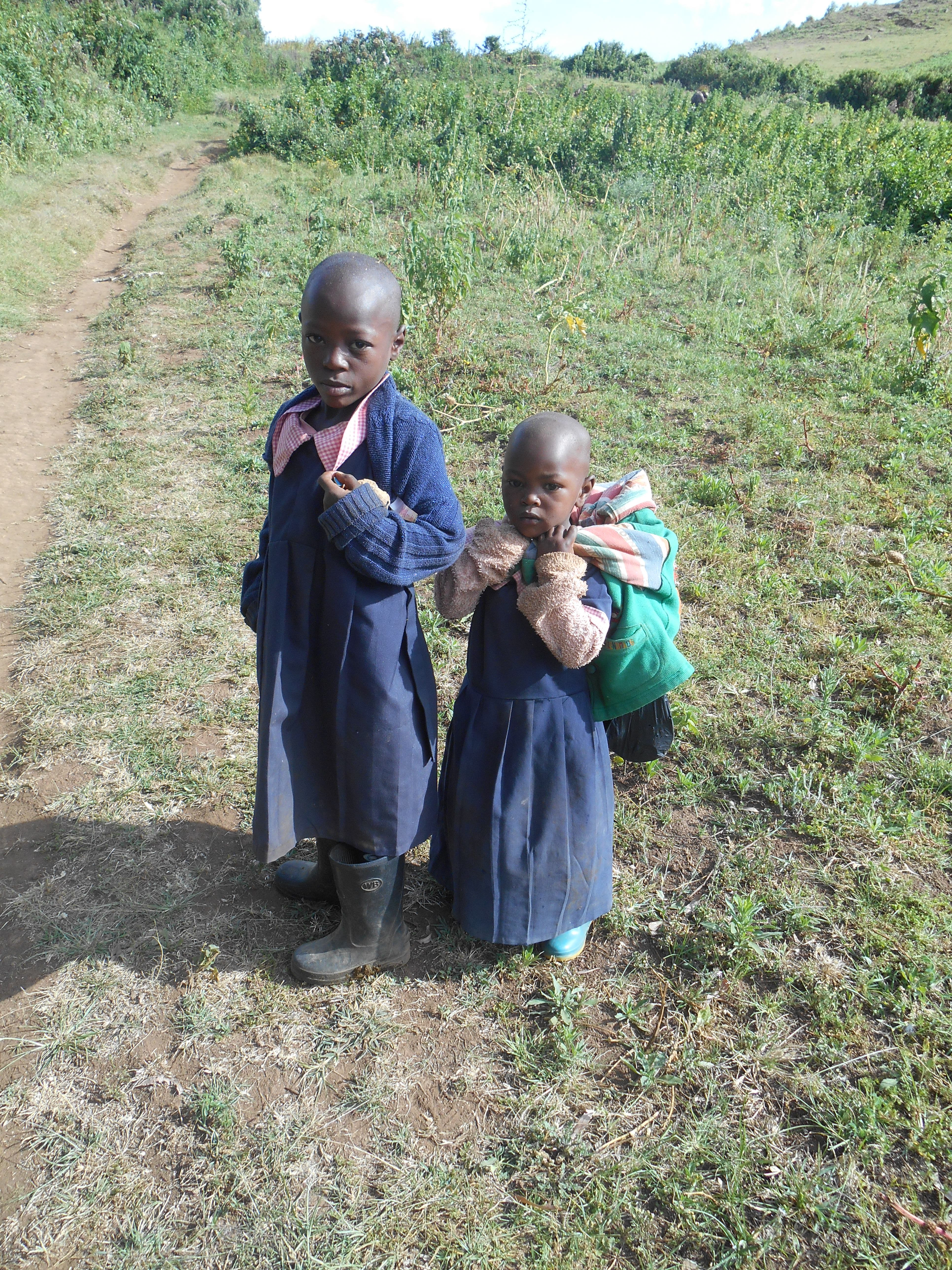 Children at the settlement for internally displaced persons in the Rift Valley, Kenya (Photo by author)