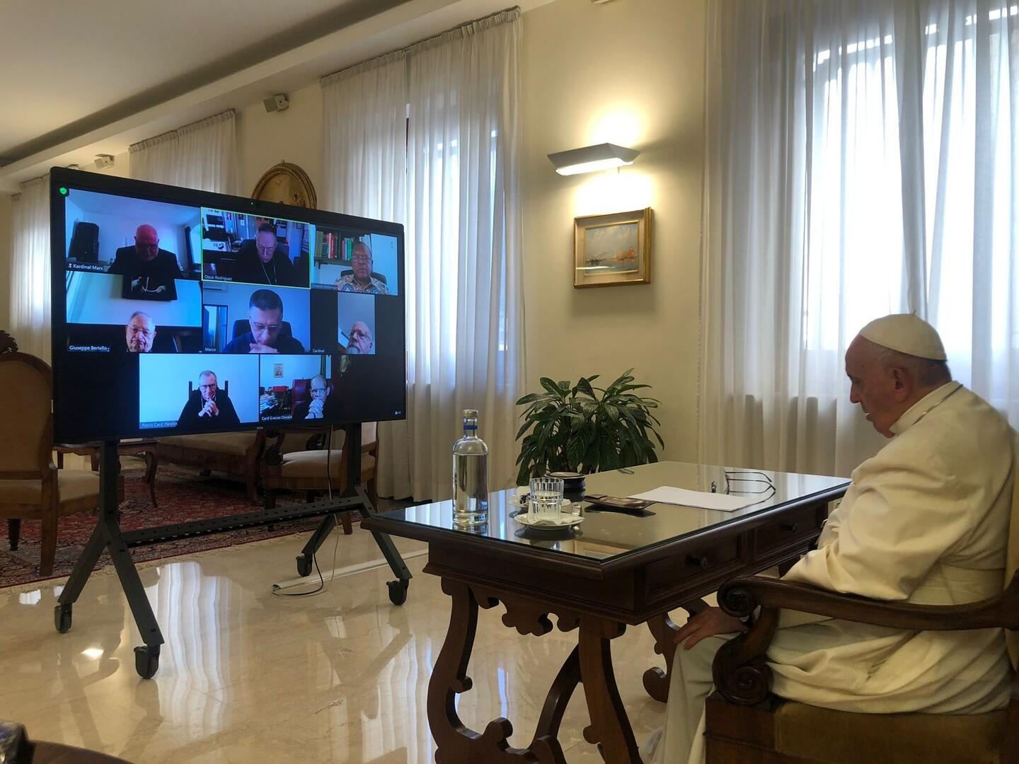 (CNS photo/Dicastery for Communication)