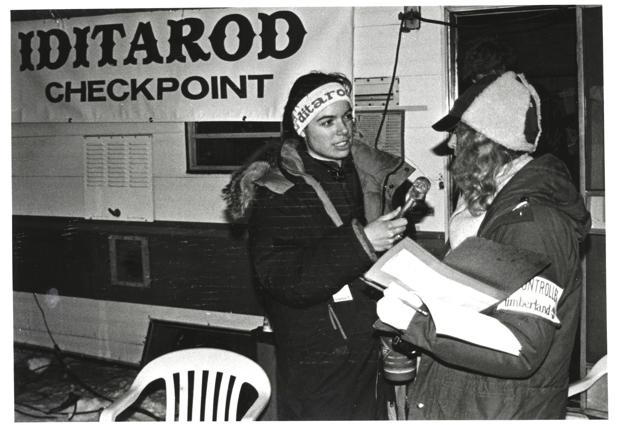 An early KNOM volunteer reports on the Iditarod trail.