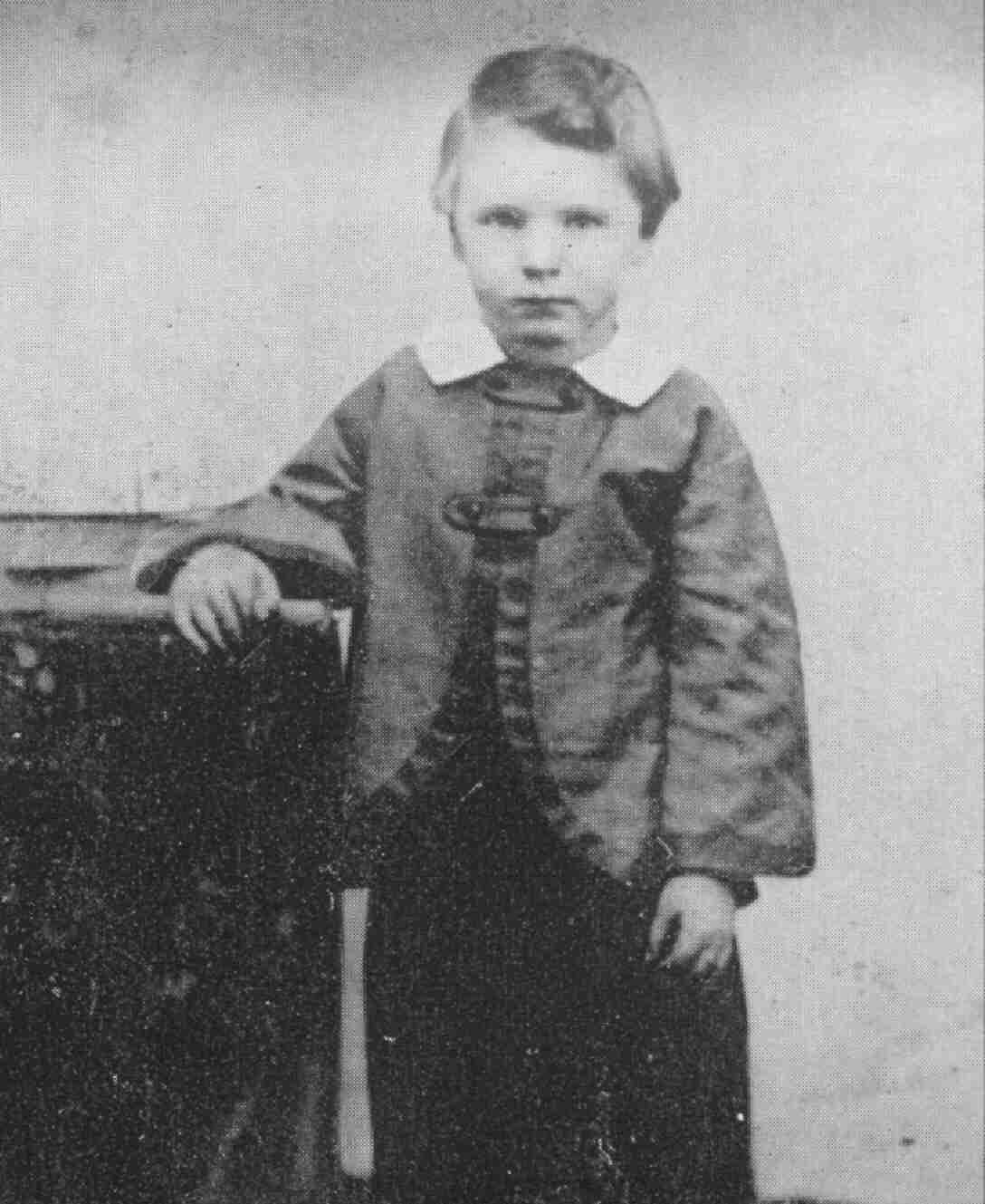 "Photograph of William ""Willie"" Wallace Lincoln, Abraham Lincoln's son."