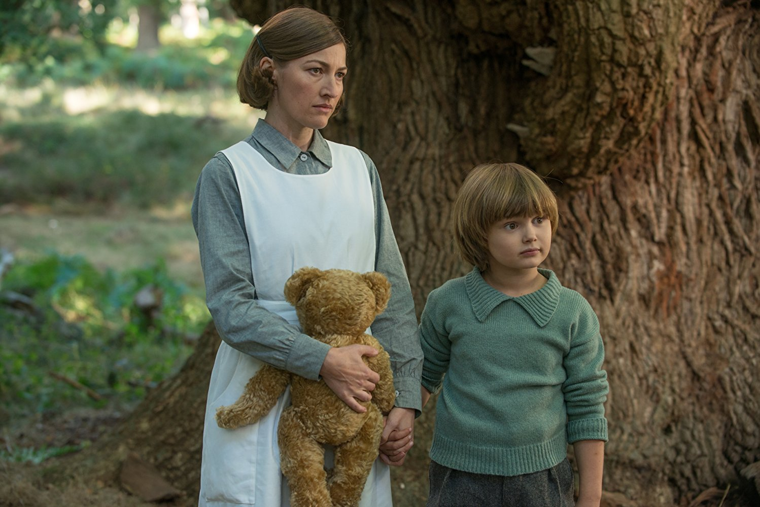 Kelly Macdonald and Will Tilston in Goodbye Christopher Robin