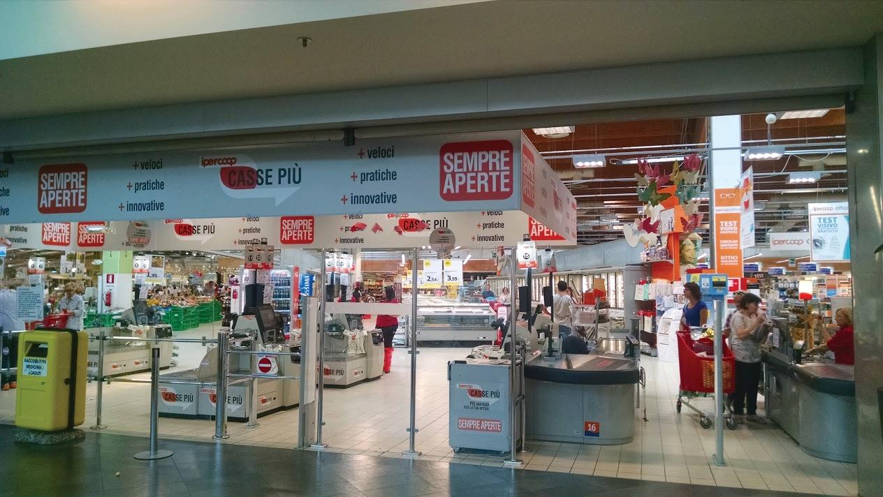 Ipercoop Supermarket, Italy