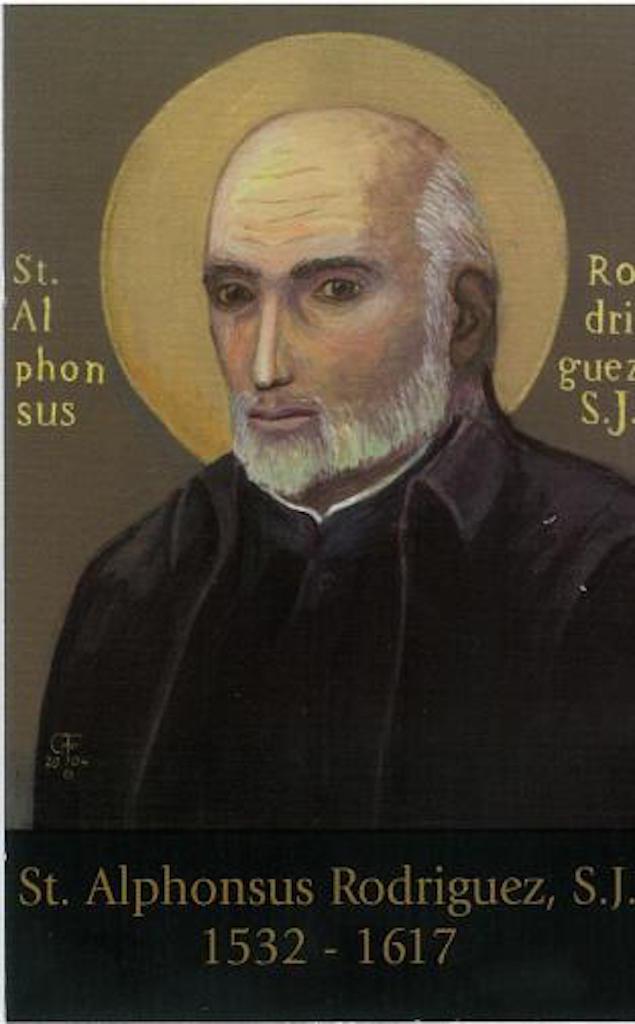 Image result for SAINT ALPHONSUS RODRIGUEZ