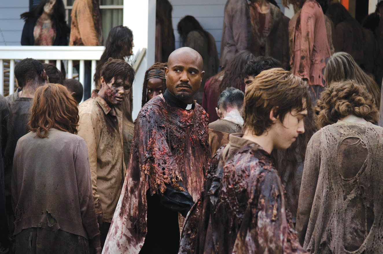 "Father Gabriel in ""The Walking Dead"" (Gene Page/AMC)"