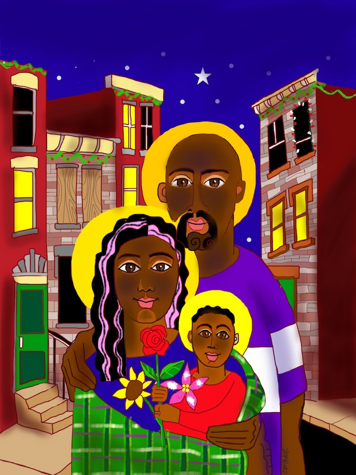 A Baltimore Holy Family