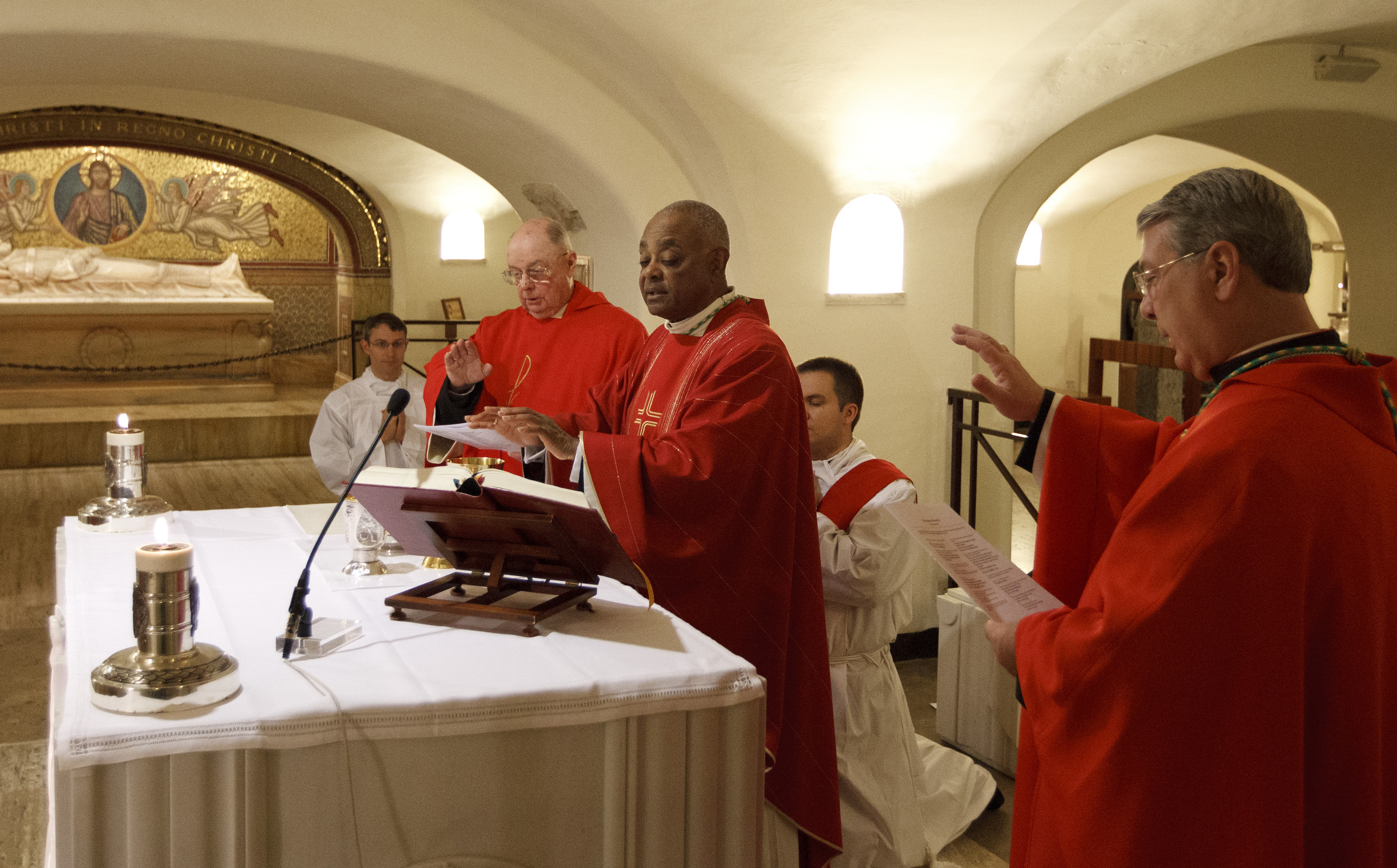 Archbishop Gregory: The time is right to review Mass