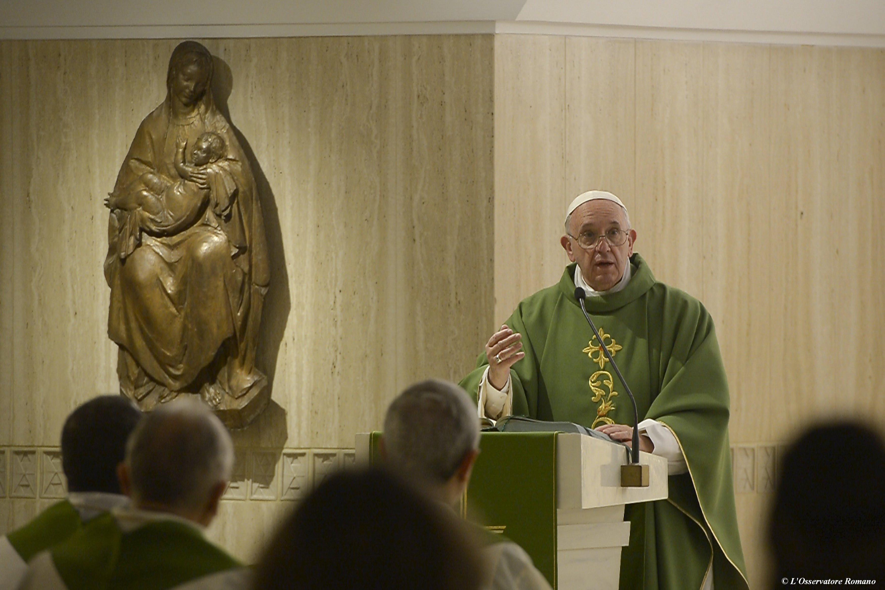 Pope Francis' homily on the Beatitudes | America Magazine
