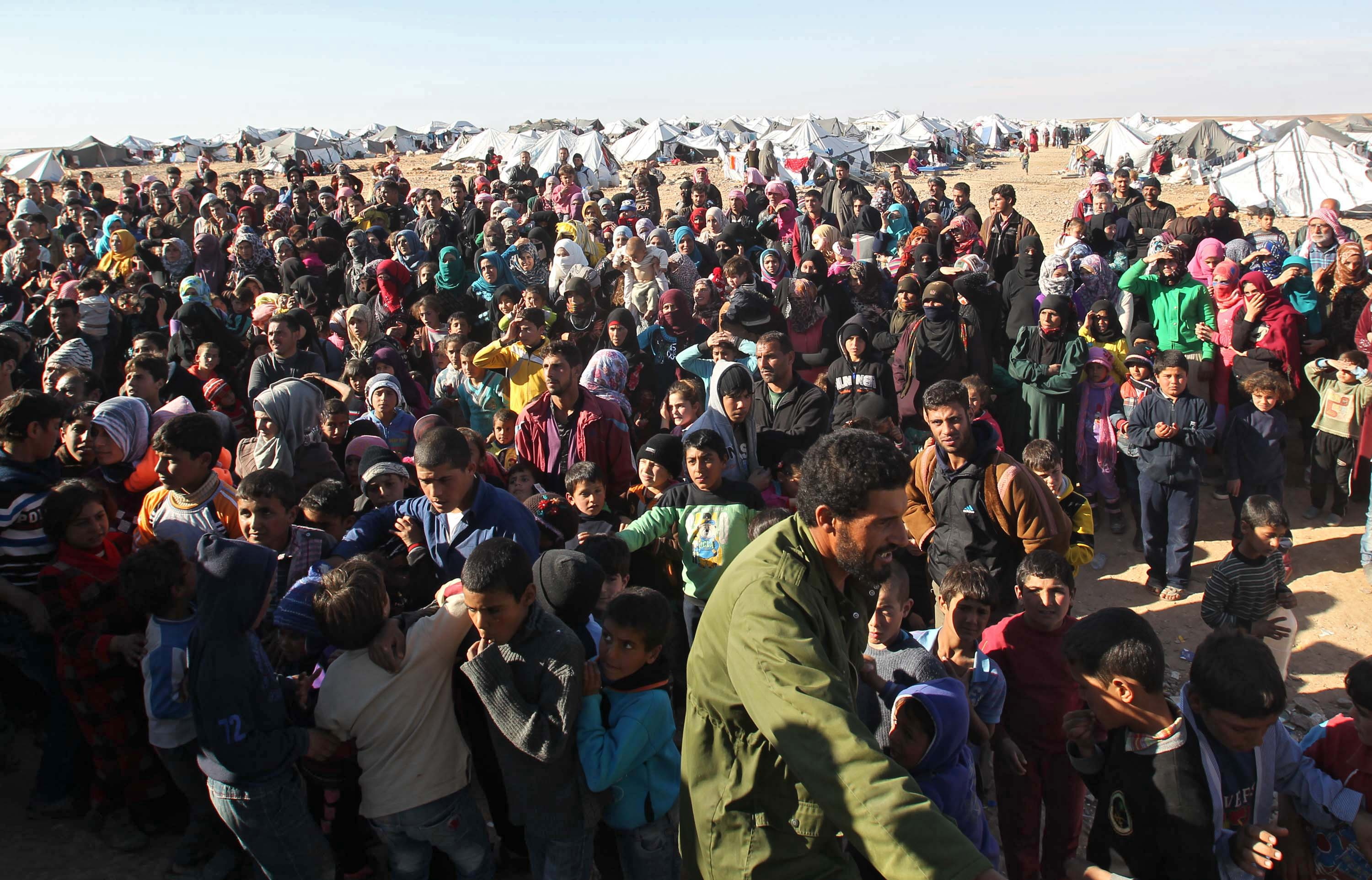 the issue of syrian refugees in the media Obama has condemned more than half of the us's governors as 'un-american' for saying they will no longer provide placement for syrian refugees who is right.