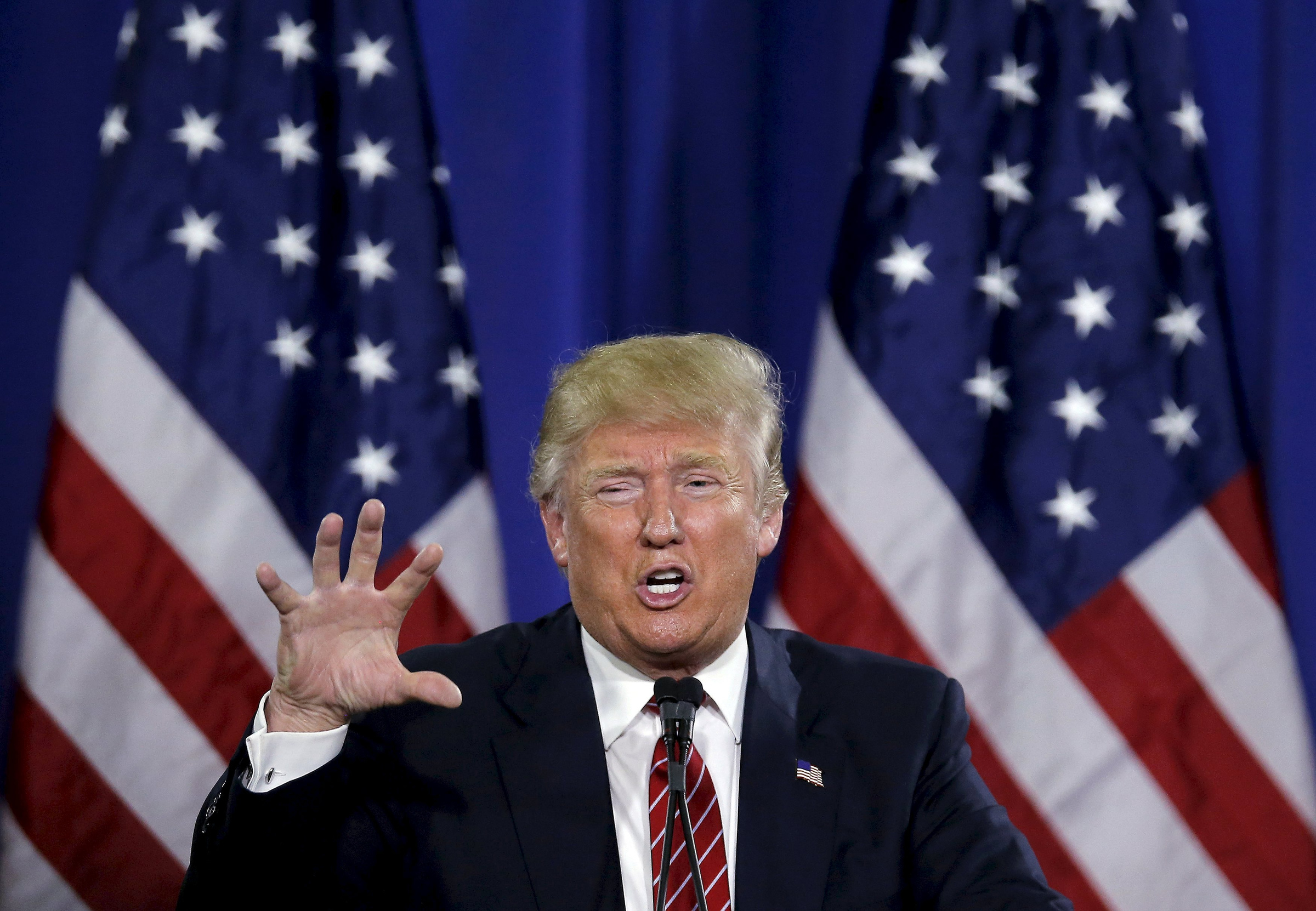 Donald Trump Is Not Going Anywhere   The New York Times Cosmopolitan