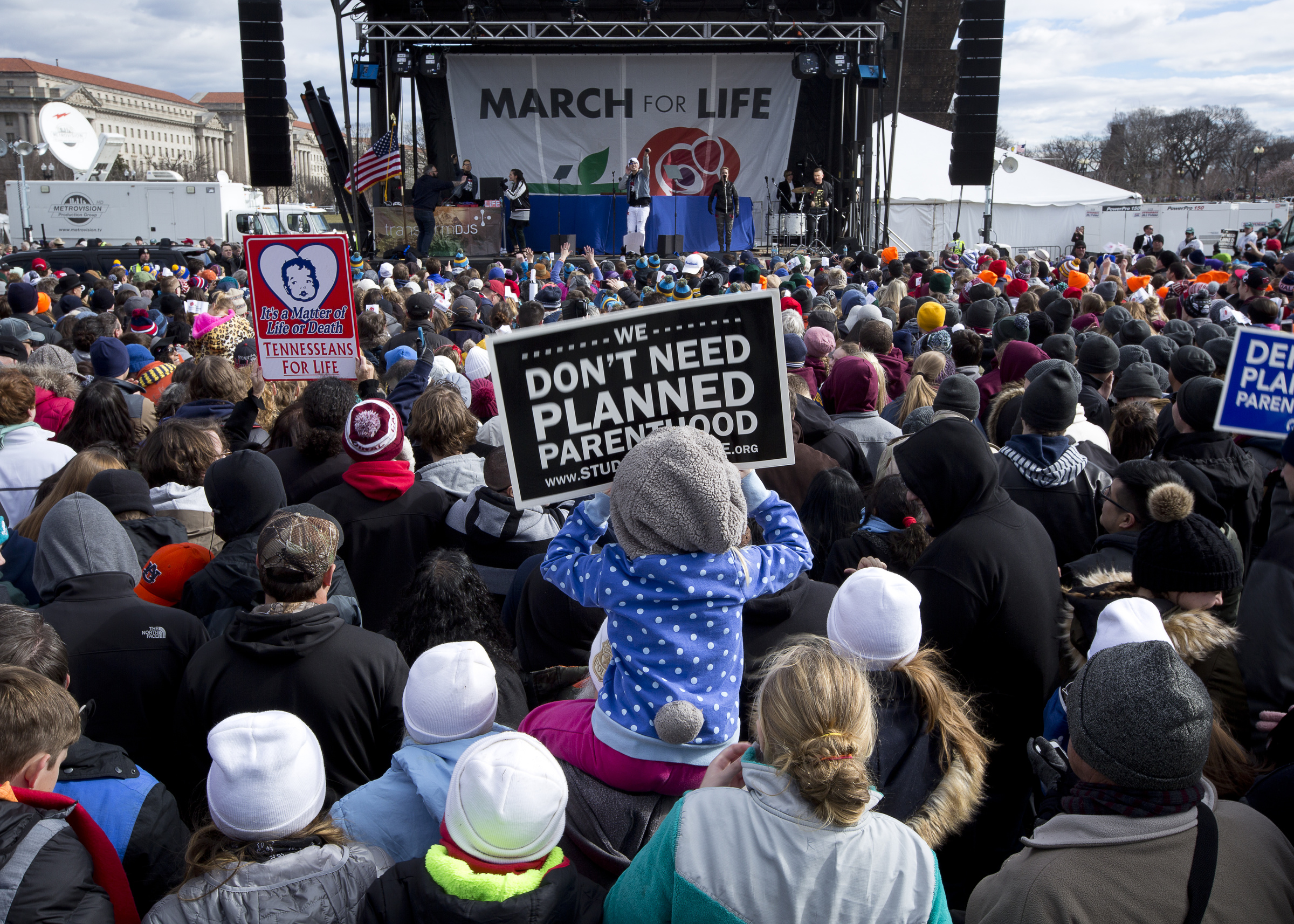 Pro Life Advocates Participate In The Annual March For Washington January 2017