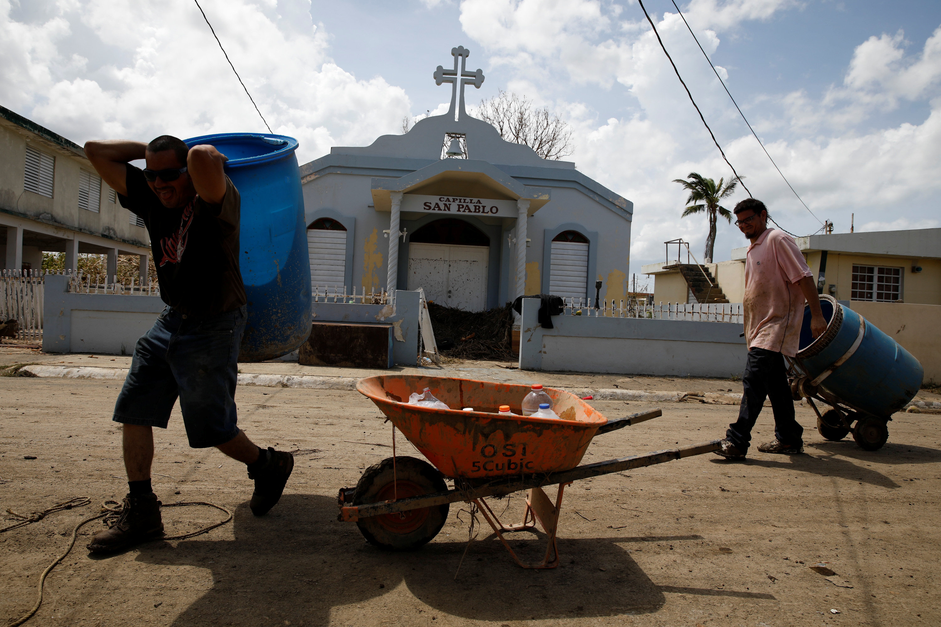 With Prayer Catholics In Puerto Rico Deal With Hurricane Marias