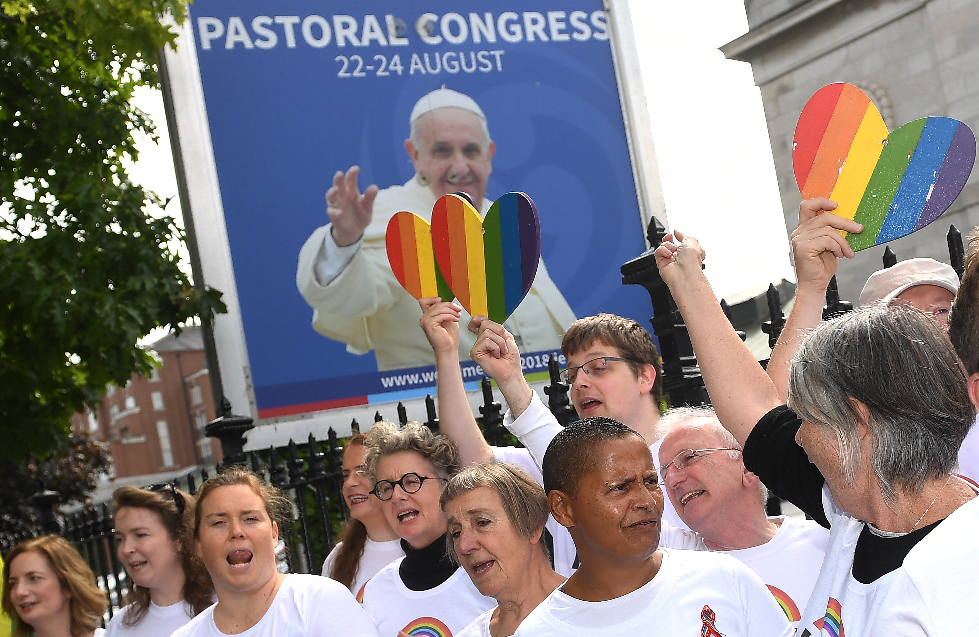 What causes homosexuality catholic
