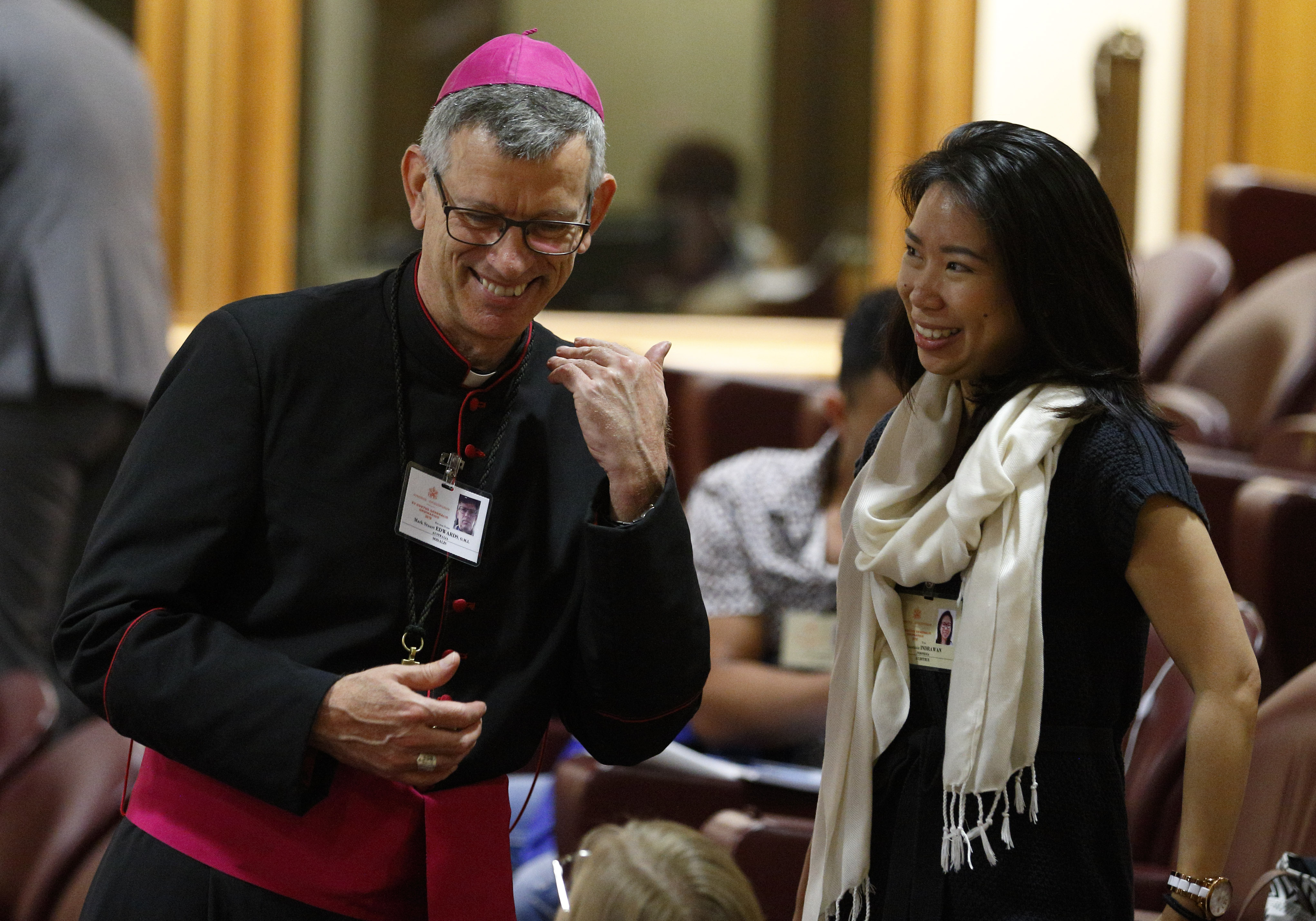 Synod 2018 Day 6: Young people aren't just spectators, 'they