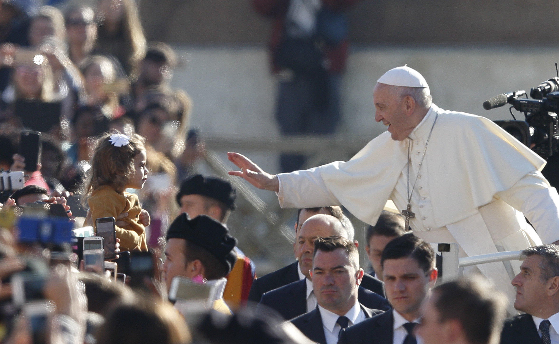 """Pope Francis: An abortion is like hiring a hit man to """"fix a"""
