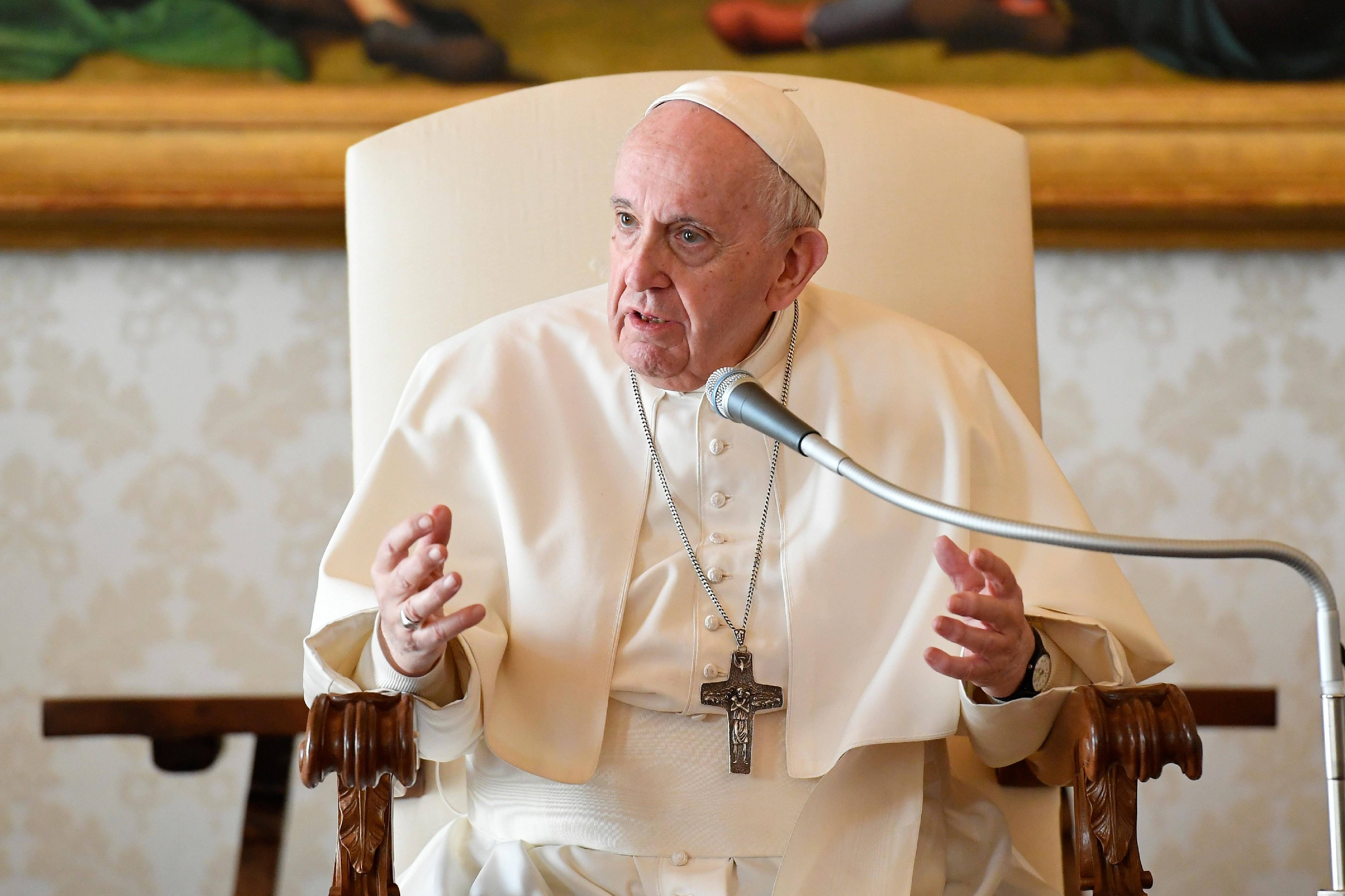 Pope Christmas Mass 2021 Vatican Sources Suspect Pope Francis Was Distancing Himself From Cdf Statement On Same Sex Unions In Address America Magazine
