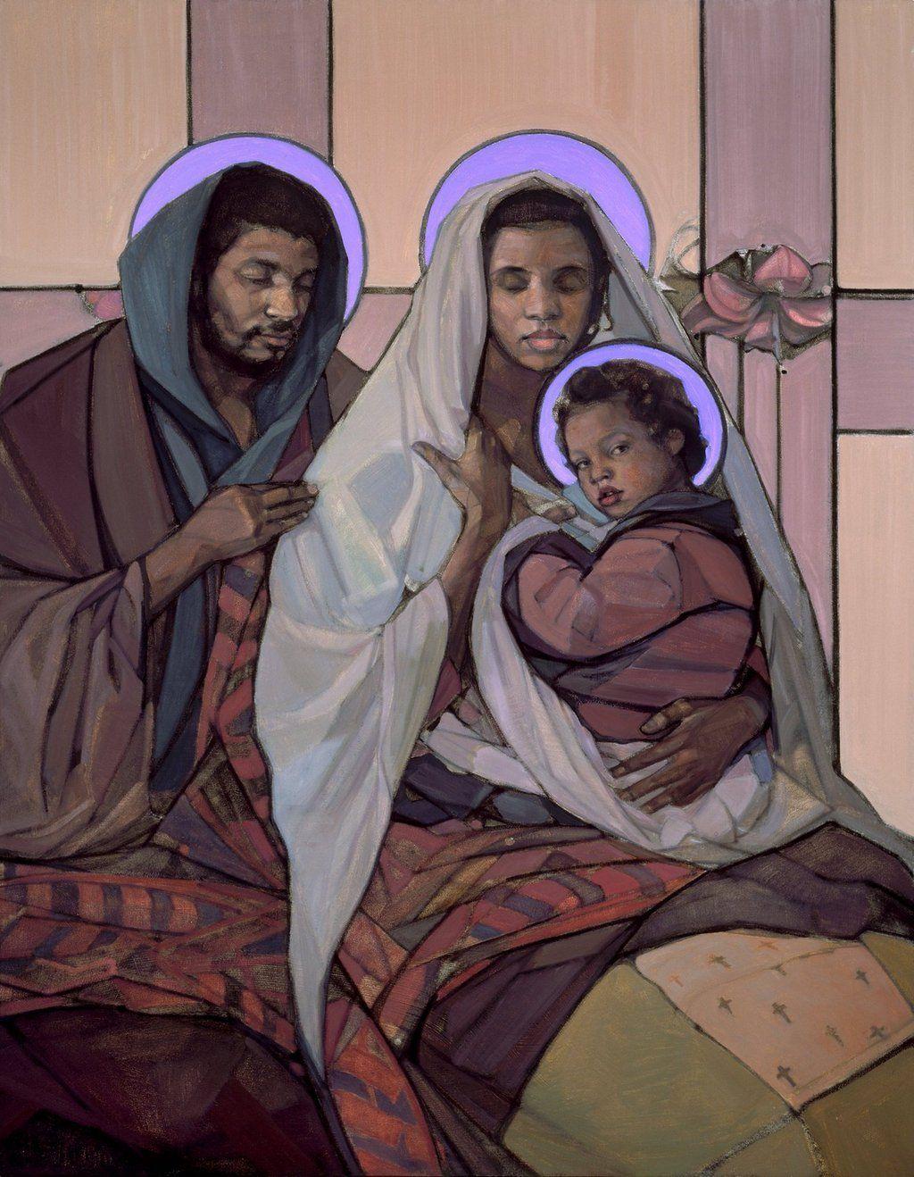 "Sister Wendy Beckett meditates on Janet McKenzie's ""The Holy Family"" |  America Magazine"