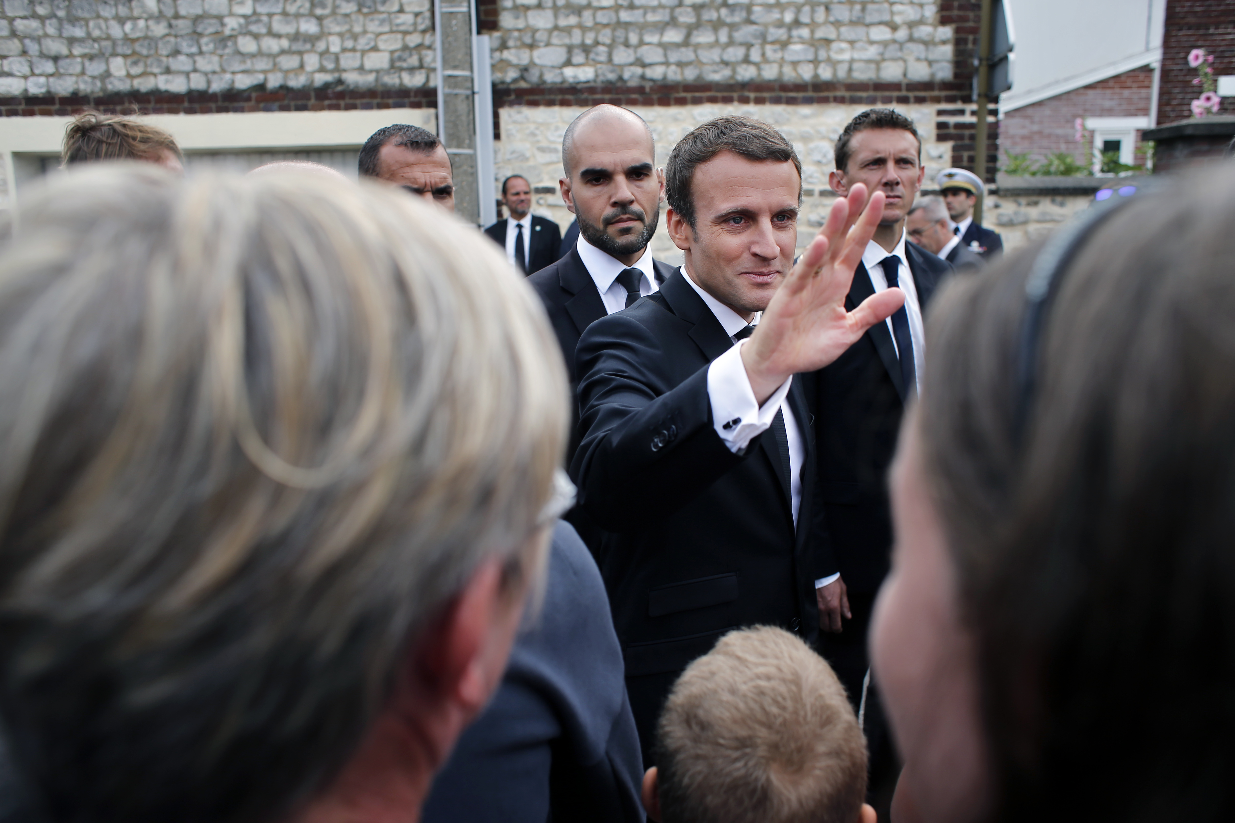 Emmanuel Macron Attends Memorial For Father Jacques Hamel America Magazine