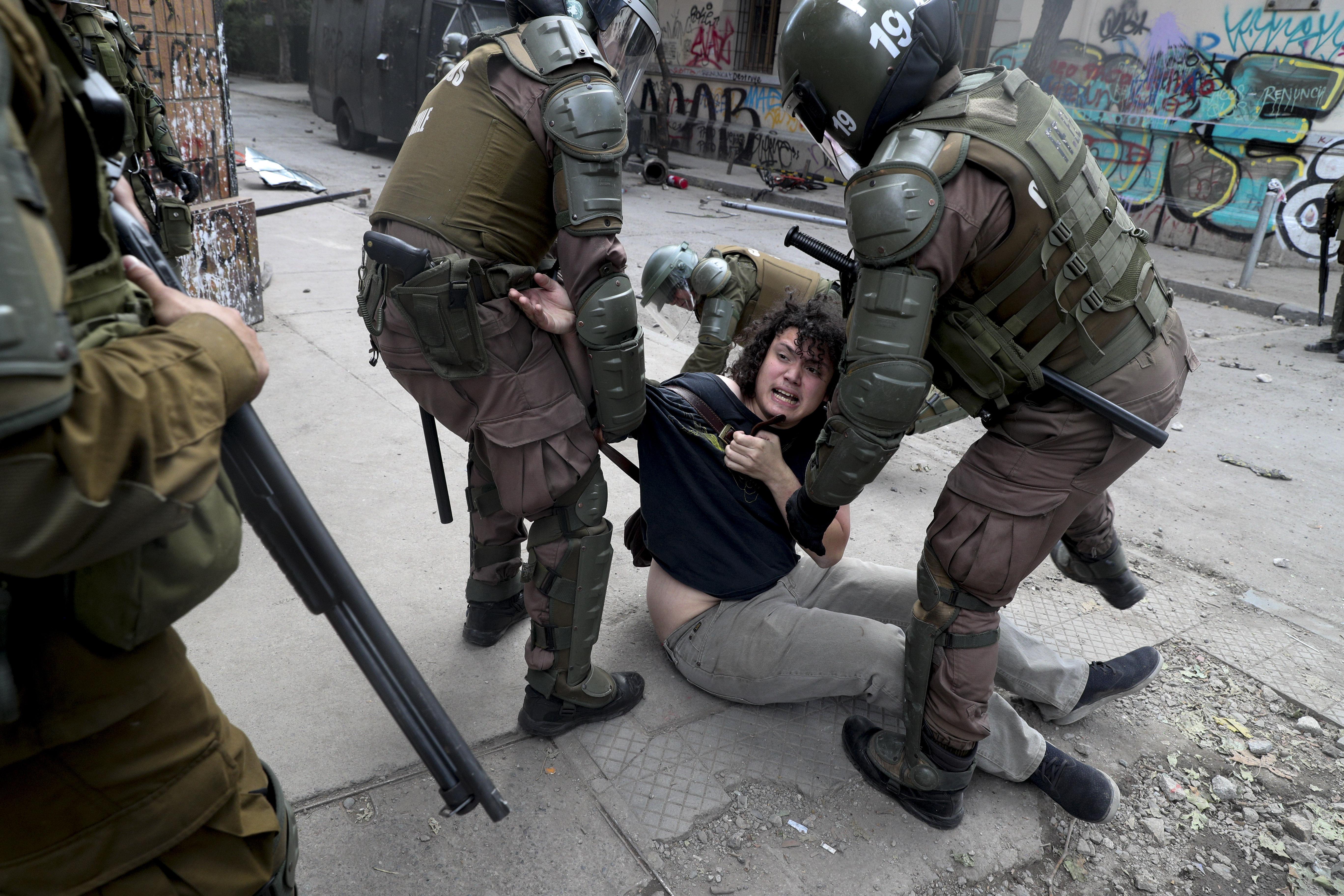 Chile Unruhen