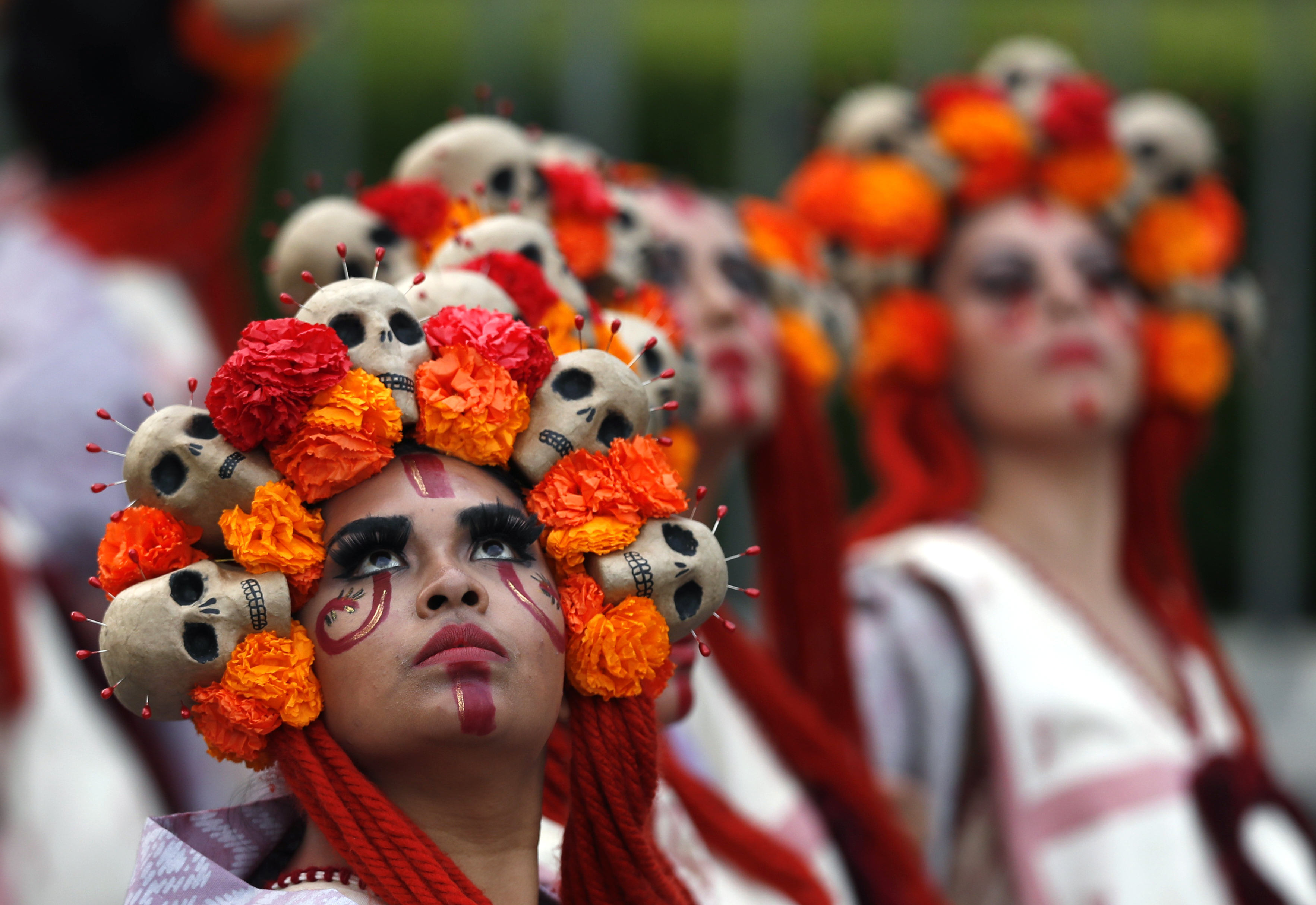 day of the dead is not mexican halloweenits a day where death is reclaimed