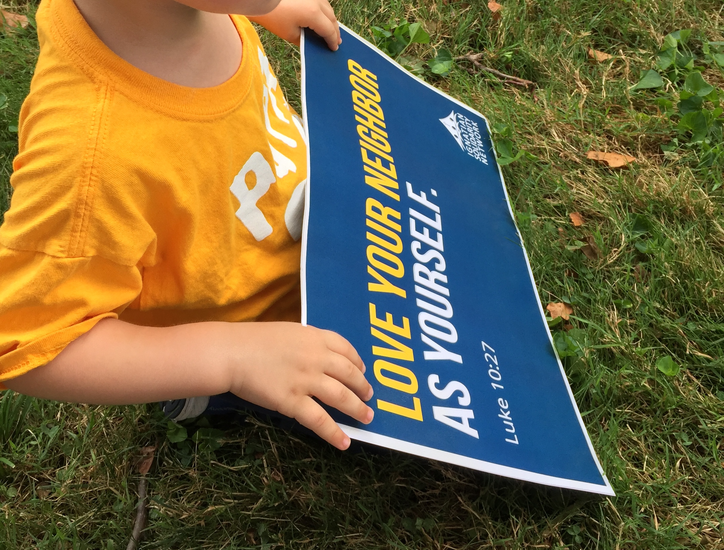 Why I took my 3-year-old to the Catholic Day of Action for