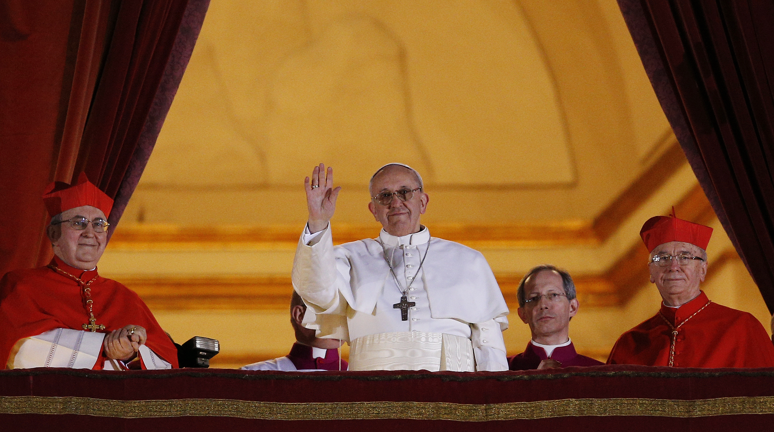Papa Francesco, la sera della sua elezione