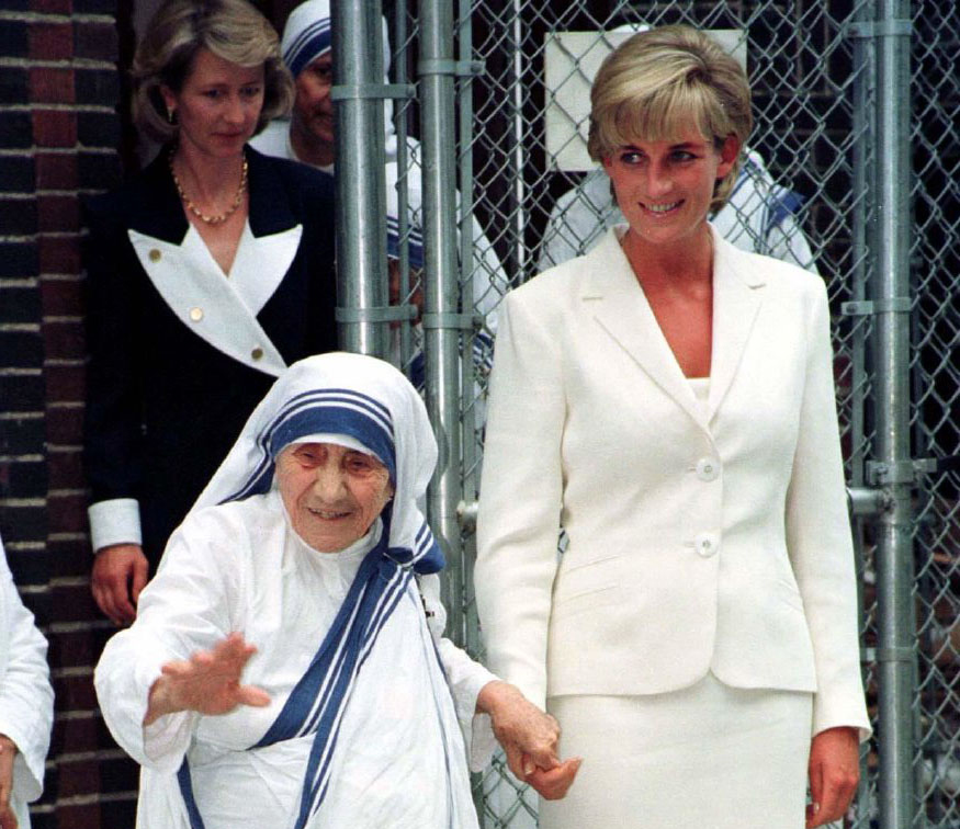 Remembering the unlikely friendship between Princess Diana and Mother Teresa | America Magazine