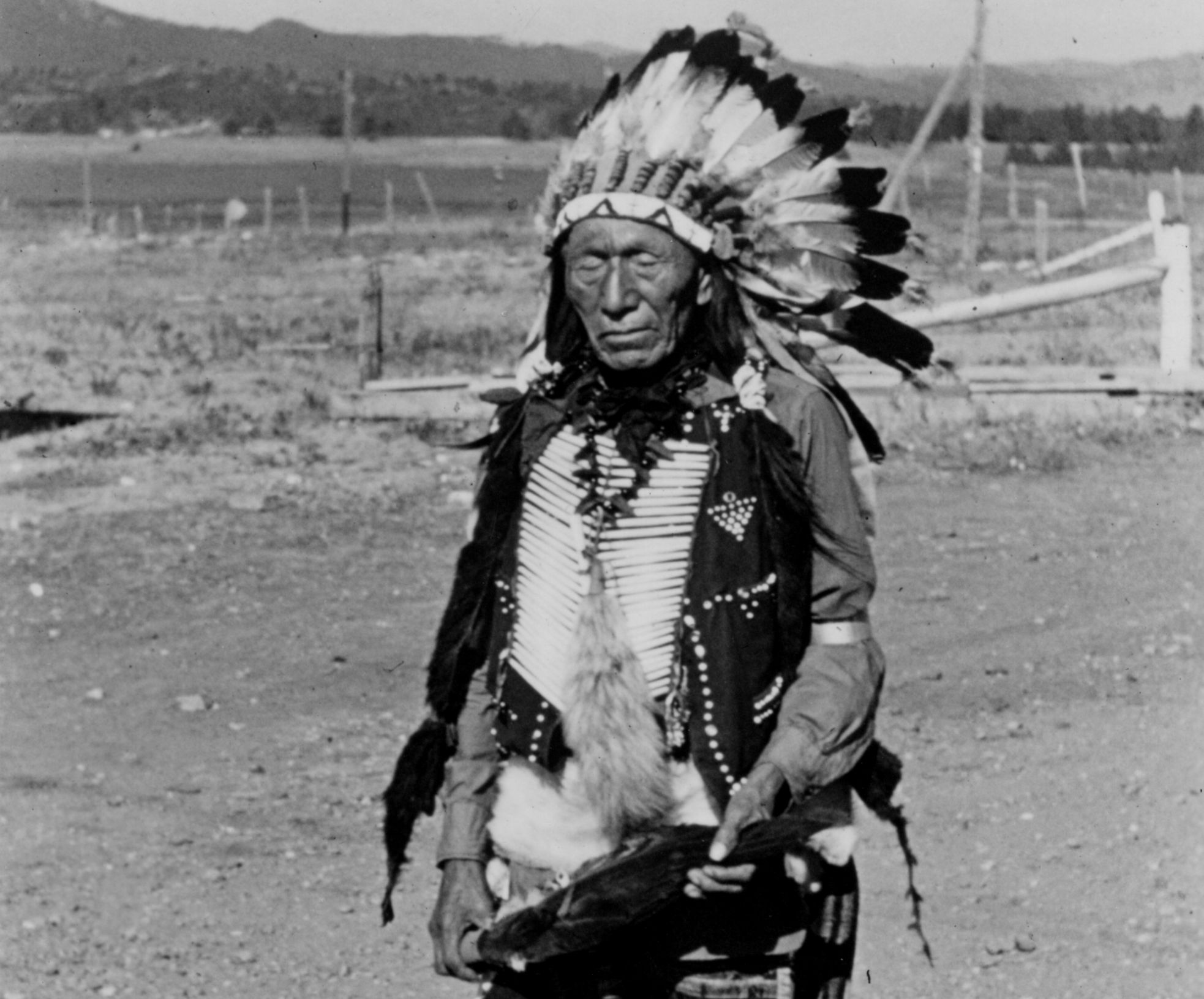 The native american holy man who did not surrender all to the