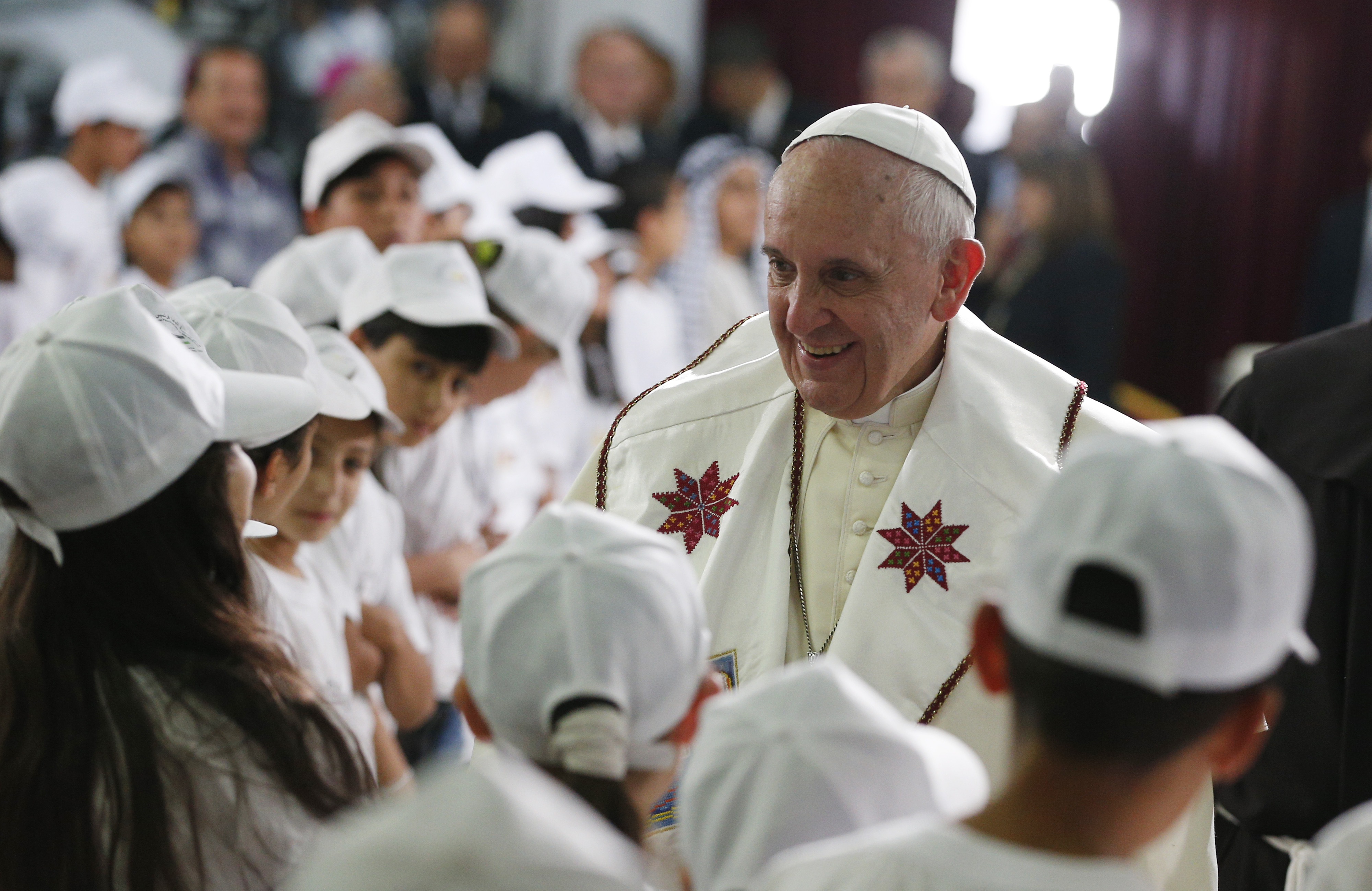Httpwww Overlordsofchaos Comhtmlorigin Of The Word Jew Html: Francis Speaking To 'Brothers,' Not 'Friends': On Last