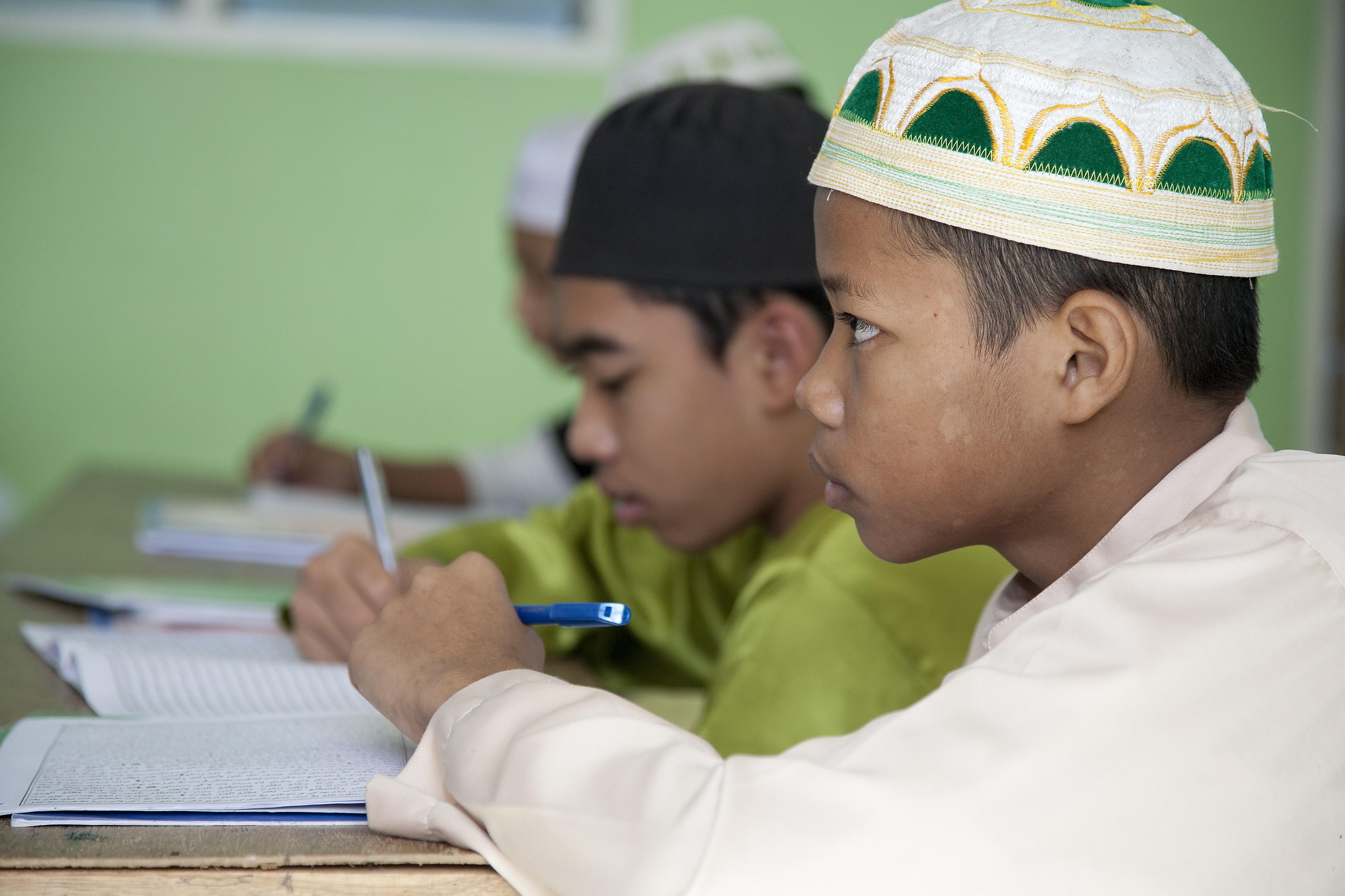 Islamic School Seeks To Steer Sons Of Militants To New