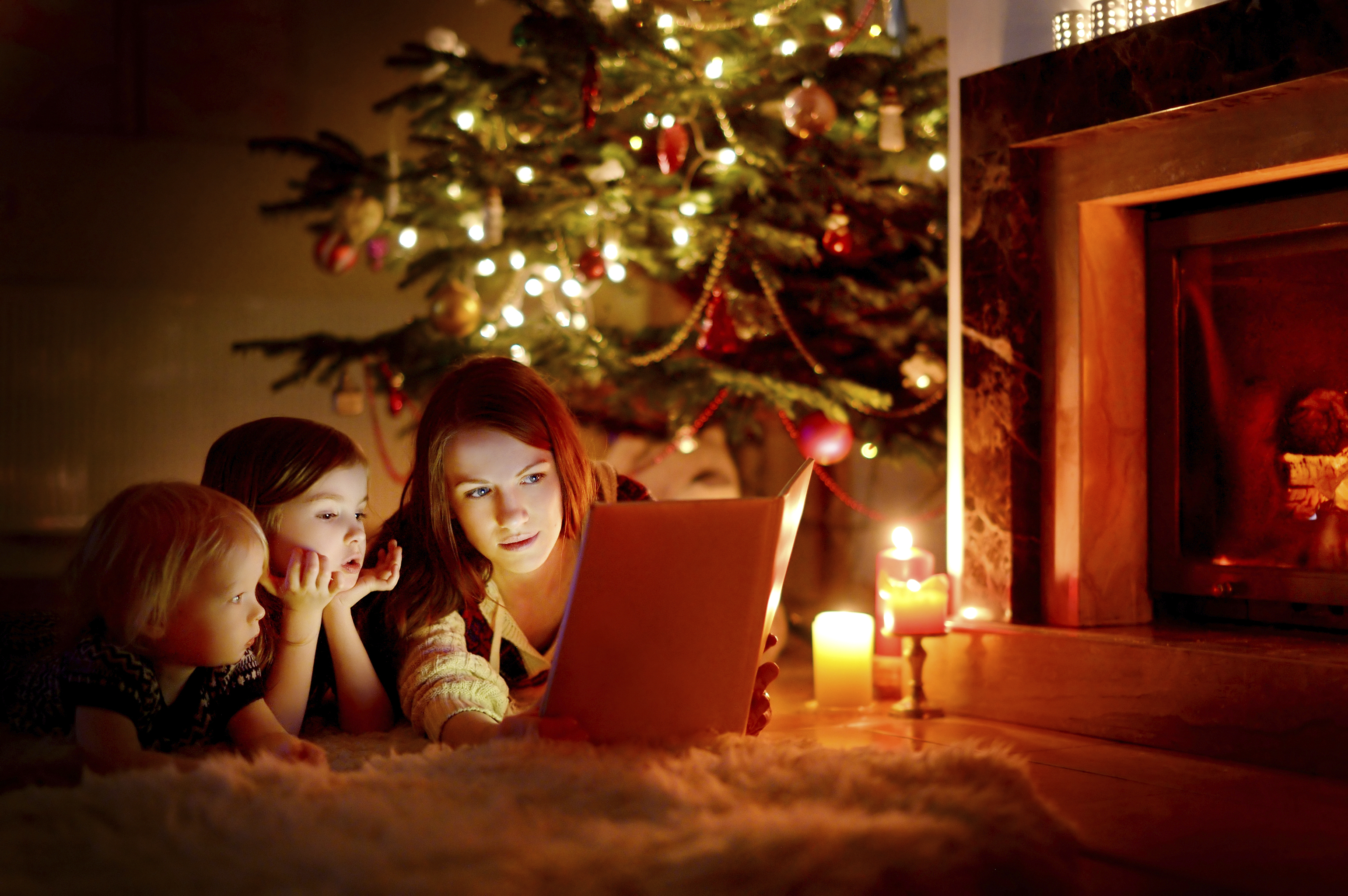 It is my great honor to tell my children the Advent and ...