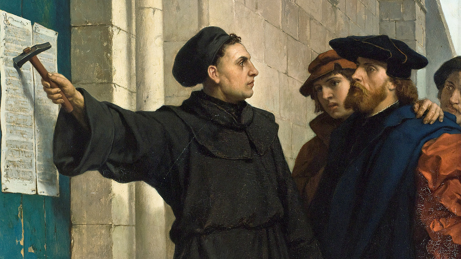 Martin luther and the 95 thesis