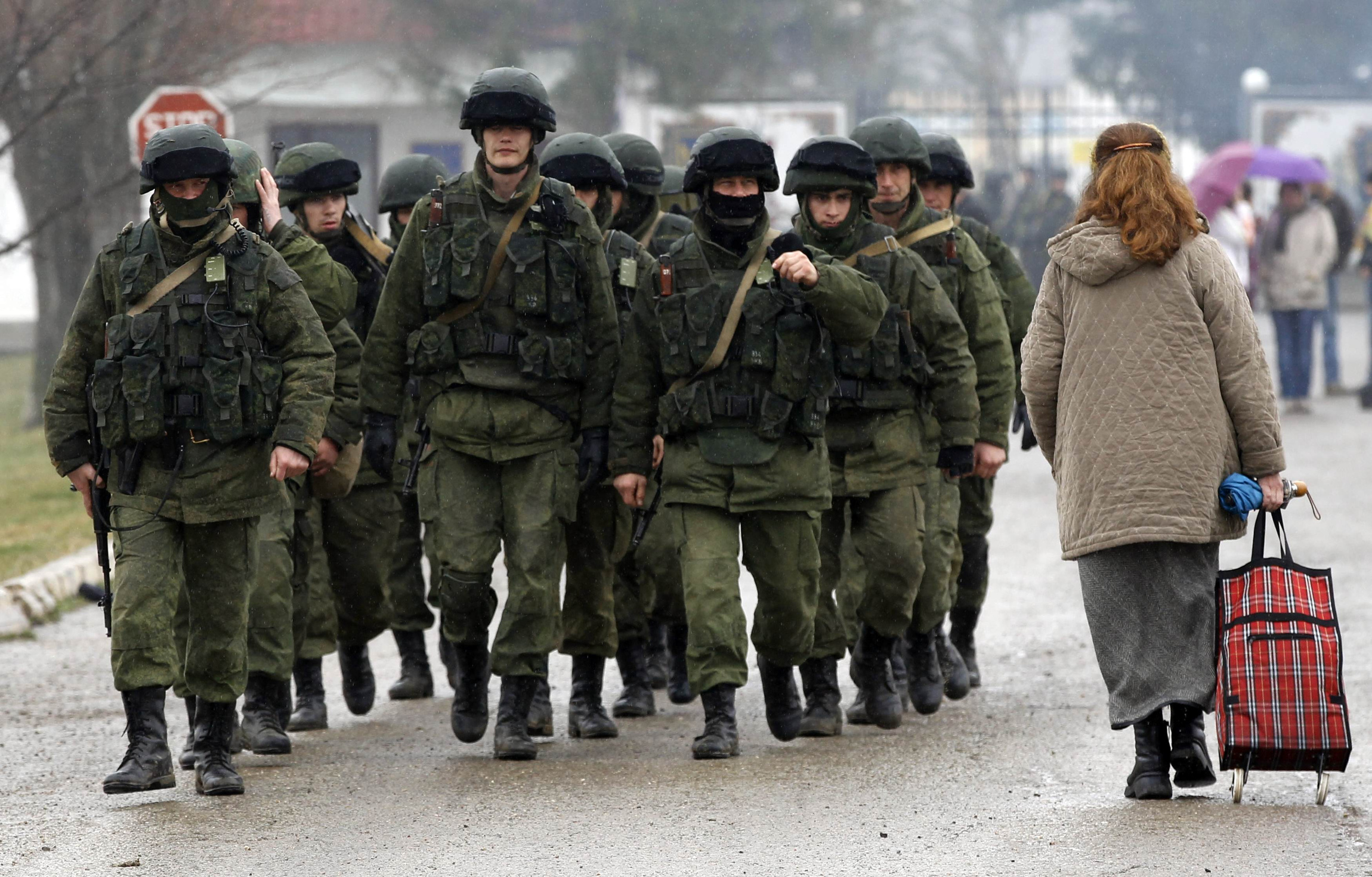 Shevchuk spoke against the introduction of troops in the Crimea 02.03.2014 73