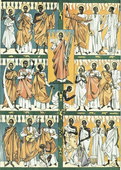 Image result for Ugandan Martyrs