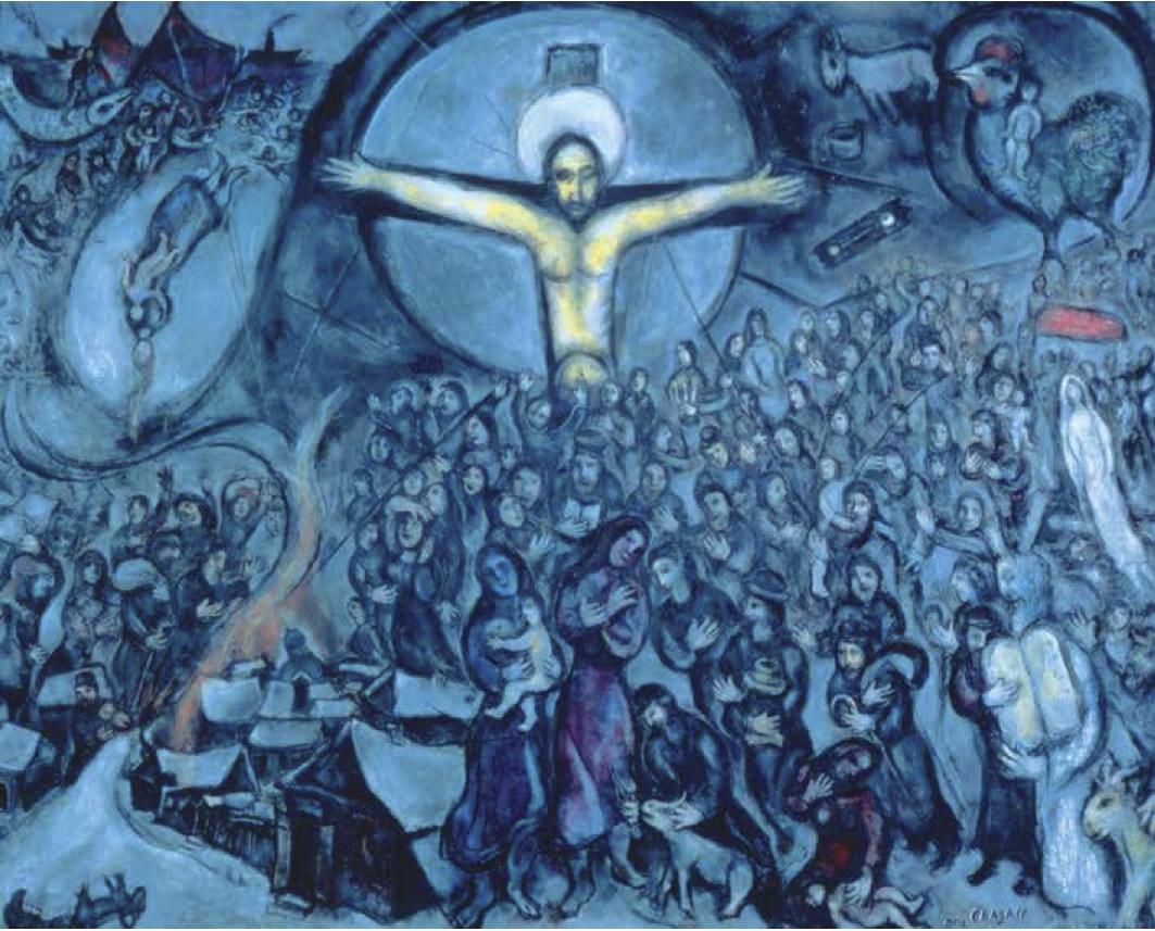 Child, Martyr, Everyman: Chagall's Jewish Jesus | America ... Chagall Crucifixion Paintings